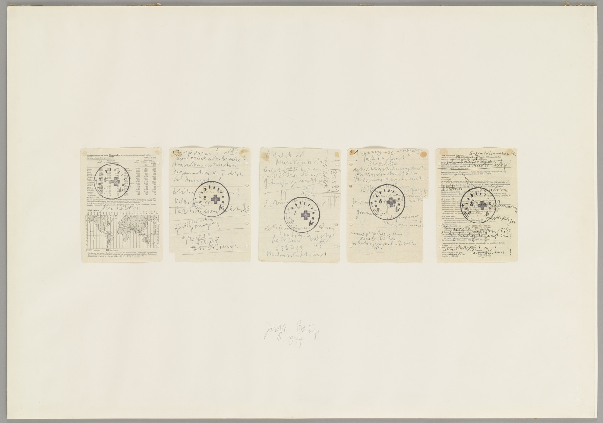 Joseph Beuys. Untitled. 1974