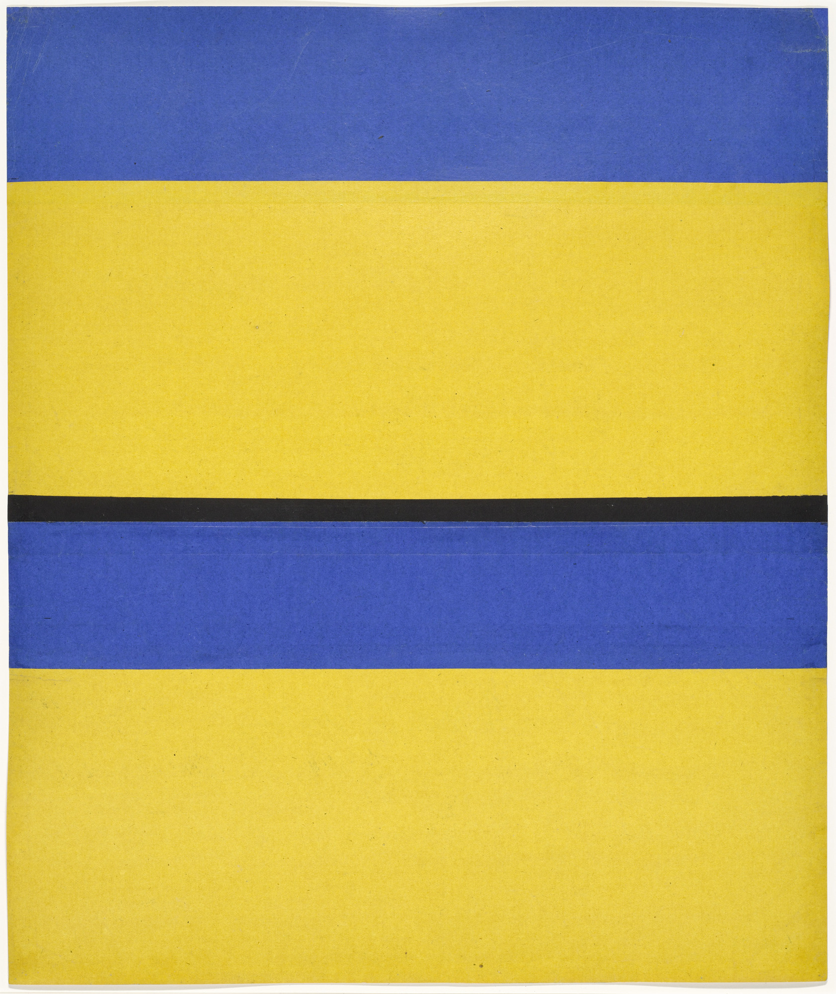 Ellsworth Kelly. Study for Fête à Torcy. 1952
