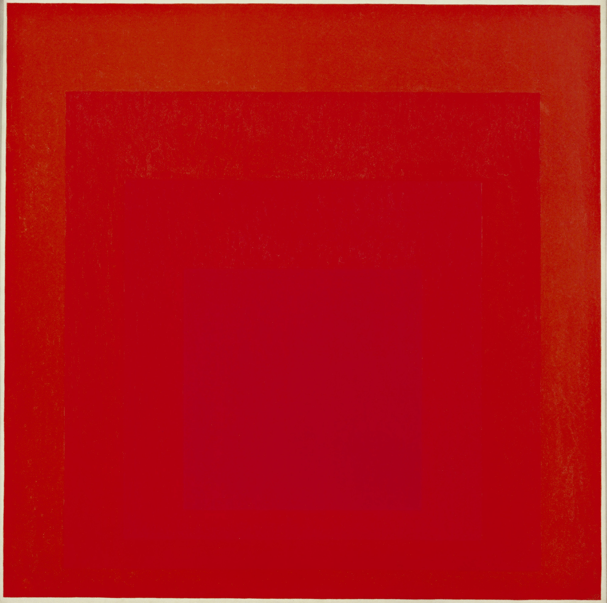 Josef Albers. Homage to the Square: Broad Call. fall 1967