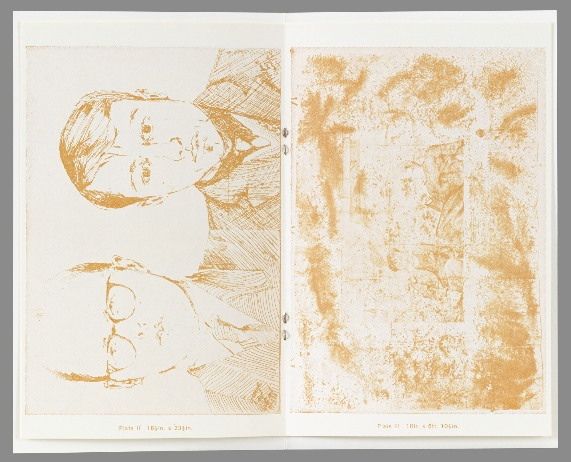 Gilbert & George, Gilbert Proesch, George Passmore. The Pencil on Paper Descriptive Works. 1970