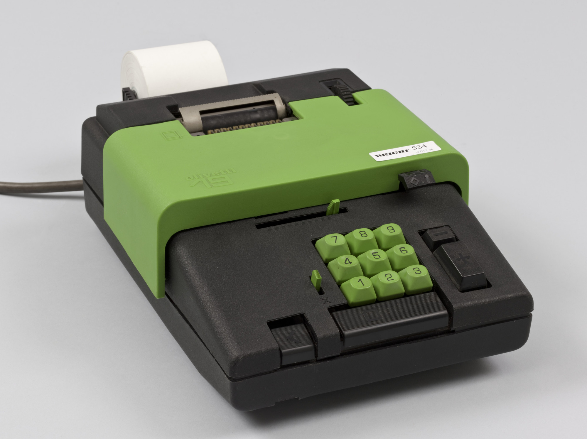 Ettore Sottsass. Summa 19 Calculator. 1970