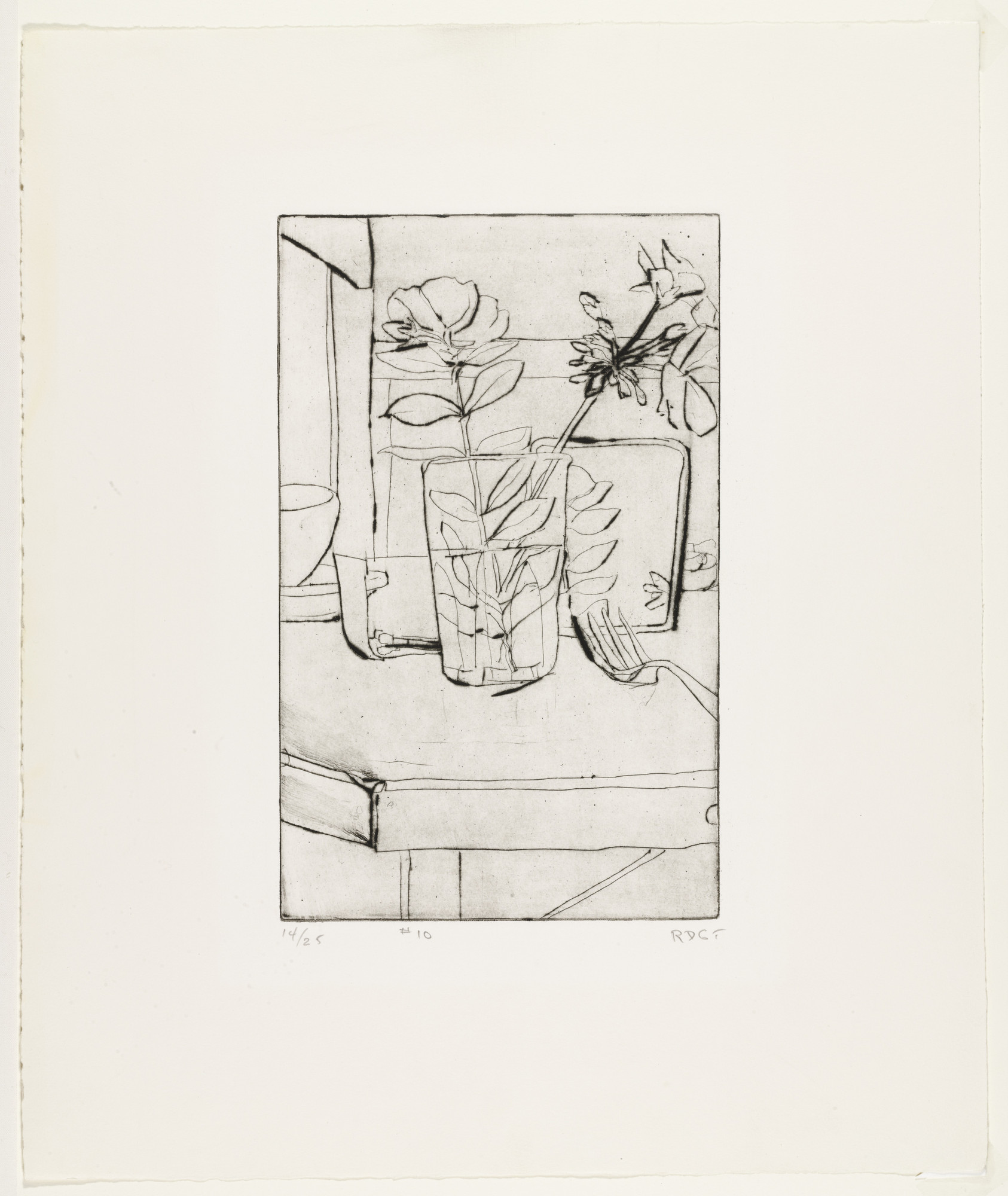 Richard Diebenkorn. No. 10 from the portfolio 41 Etchings and Drypoints. 1965