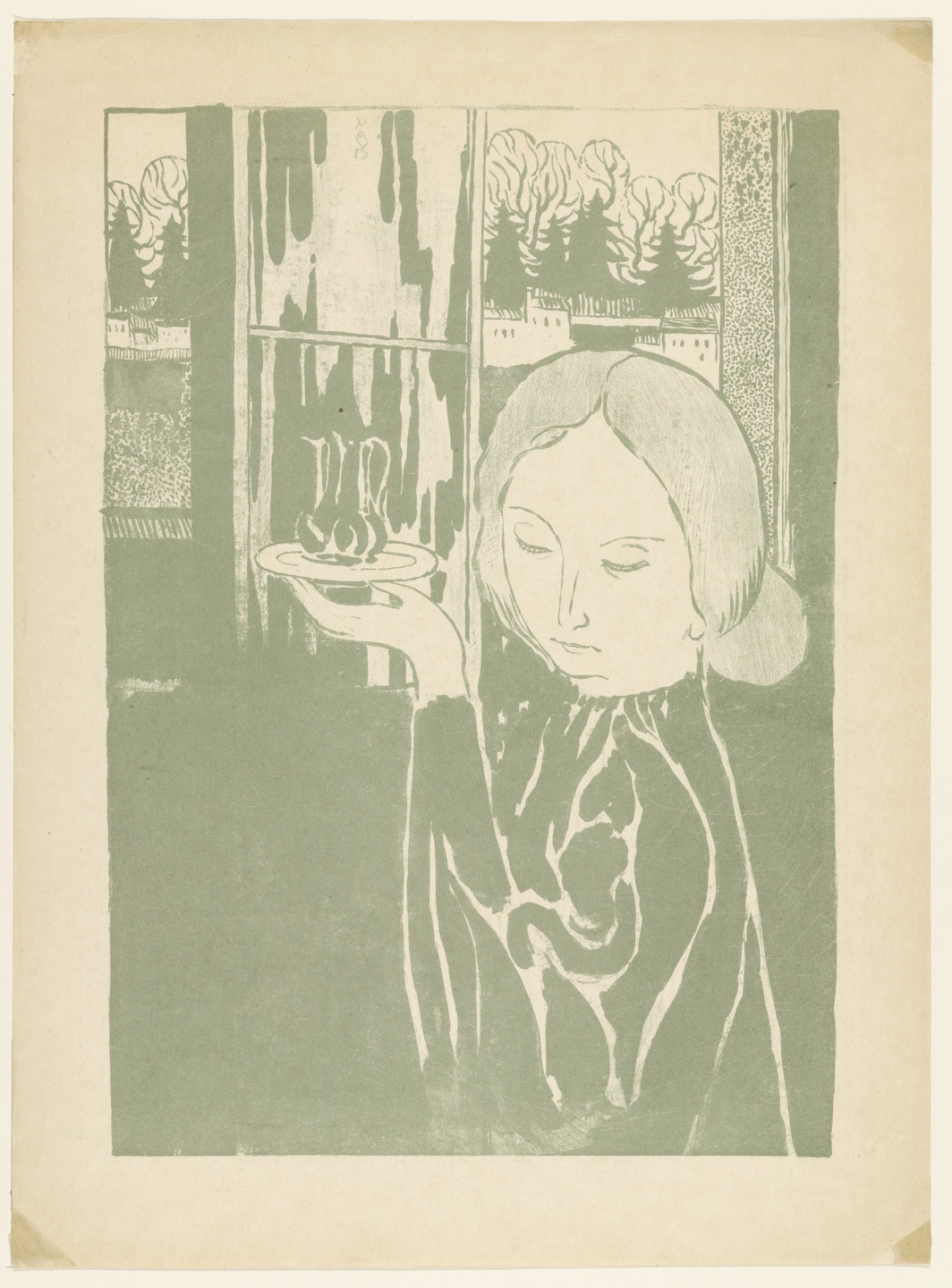 Maurice Denis. Woman with Ewer. (1895)
