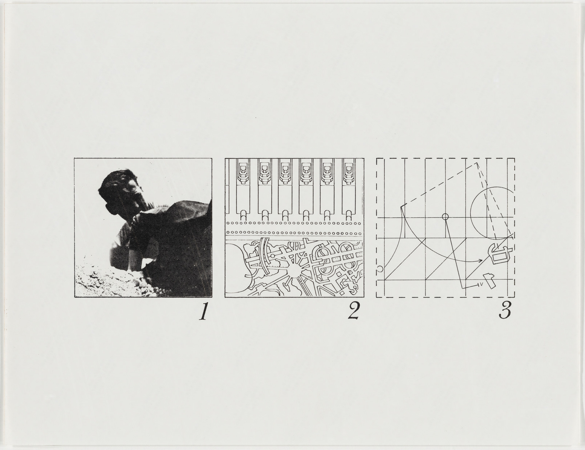 Bernard Tschumi. The Manhattan Transcripts Project, New York, New York, Episode 1: The Park. 1976-77