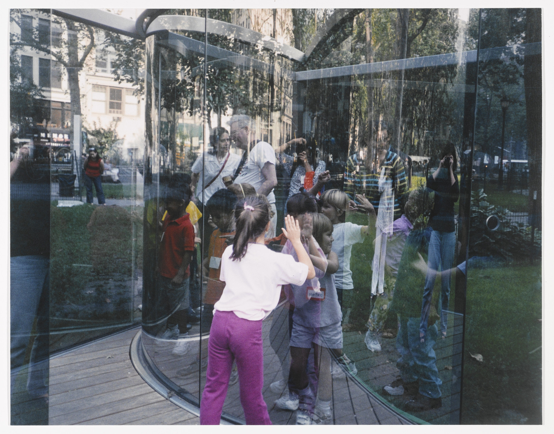 Dan Graham. Fun for Kids at my Work in a Park in Manhattan (for Parkett no. 68). 2003