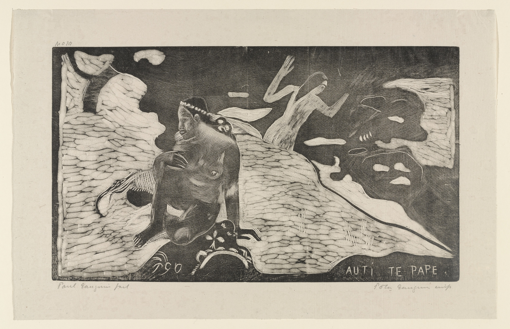 Paul Gauguin. Auti te Pape (Women at the River) from Noa Noa (Fragrant Scent). 1894, printed 1921