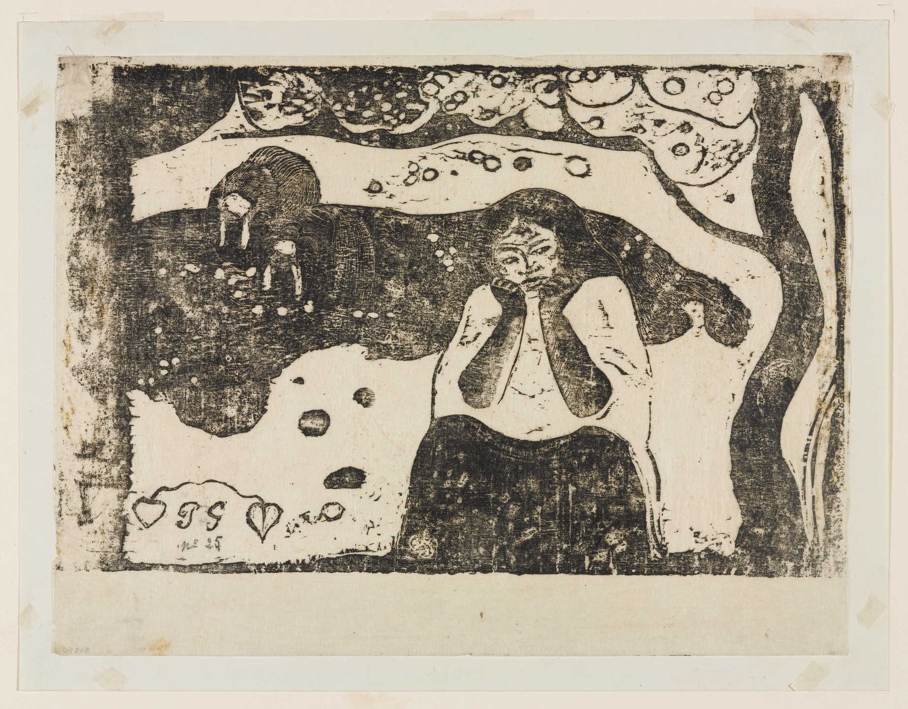 Paul Gauguin. Human Misery (Misères humaines). c. 1898-99