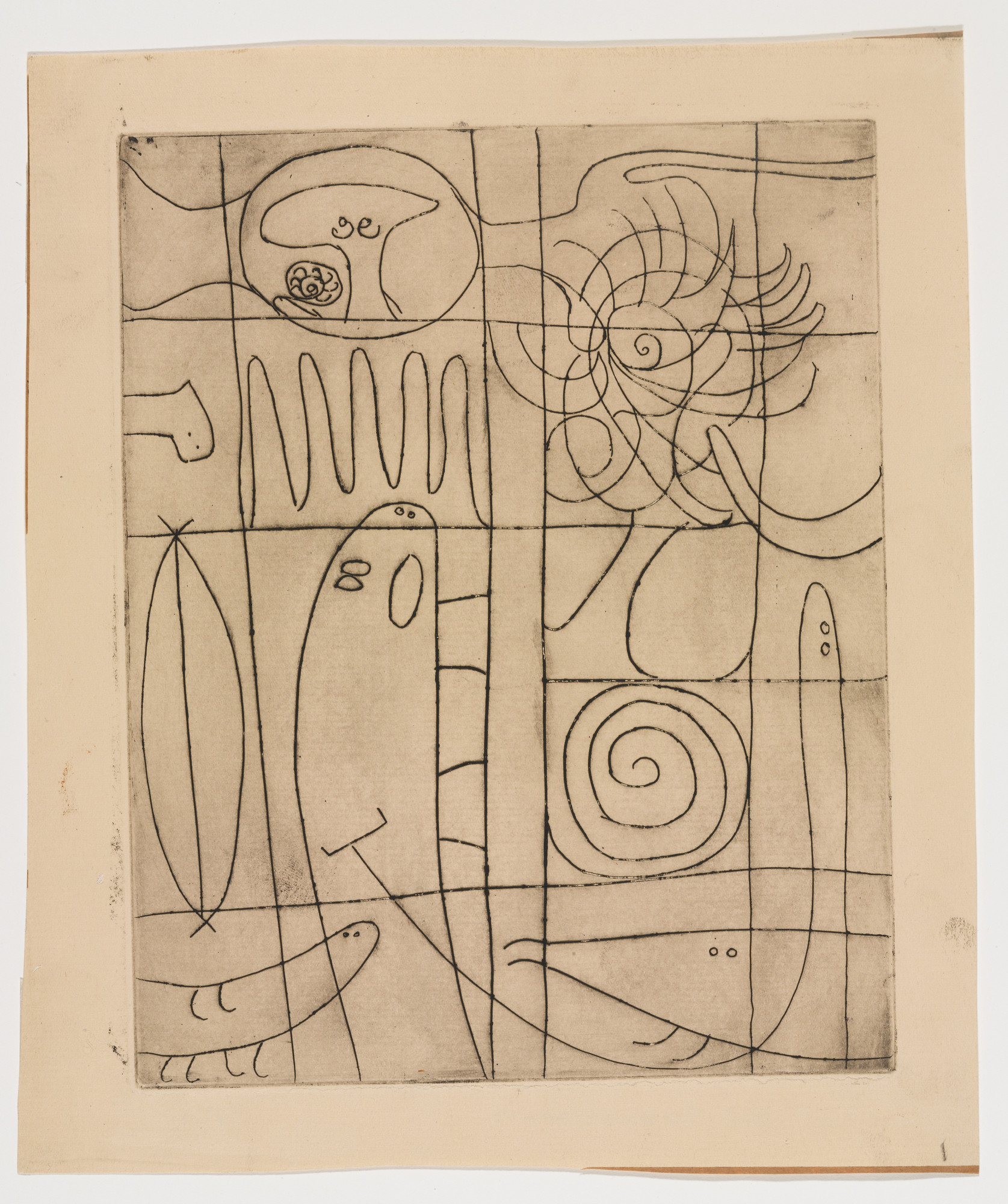 Adolph Gottlieb. Untitled (E # E). c. 1945