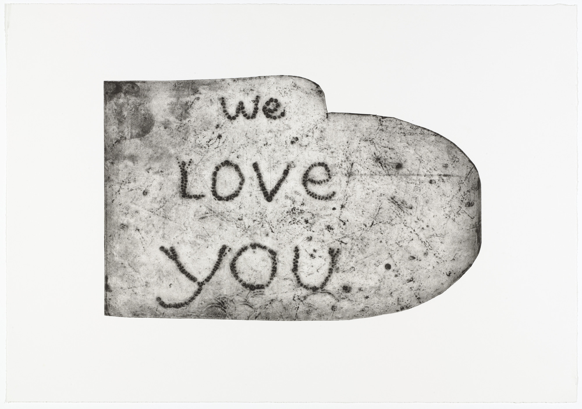 Louise Bourgeois. We Love You. 1992
