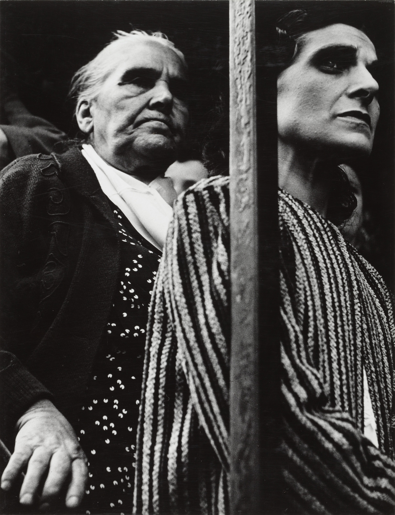 Lisette Model. World War II Rally, Lower East Side. 1942