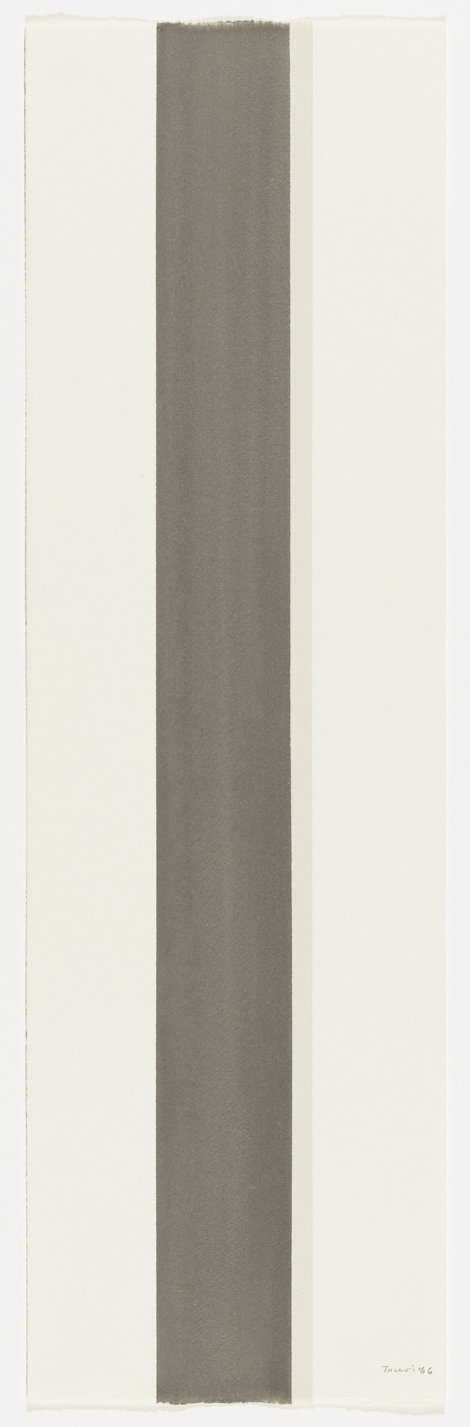 Anne Truitt. Sumi Drawing. 1966
