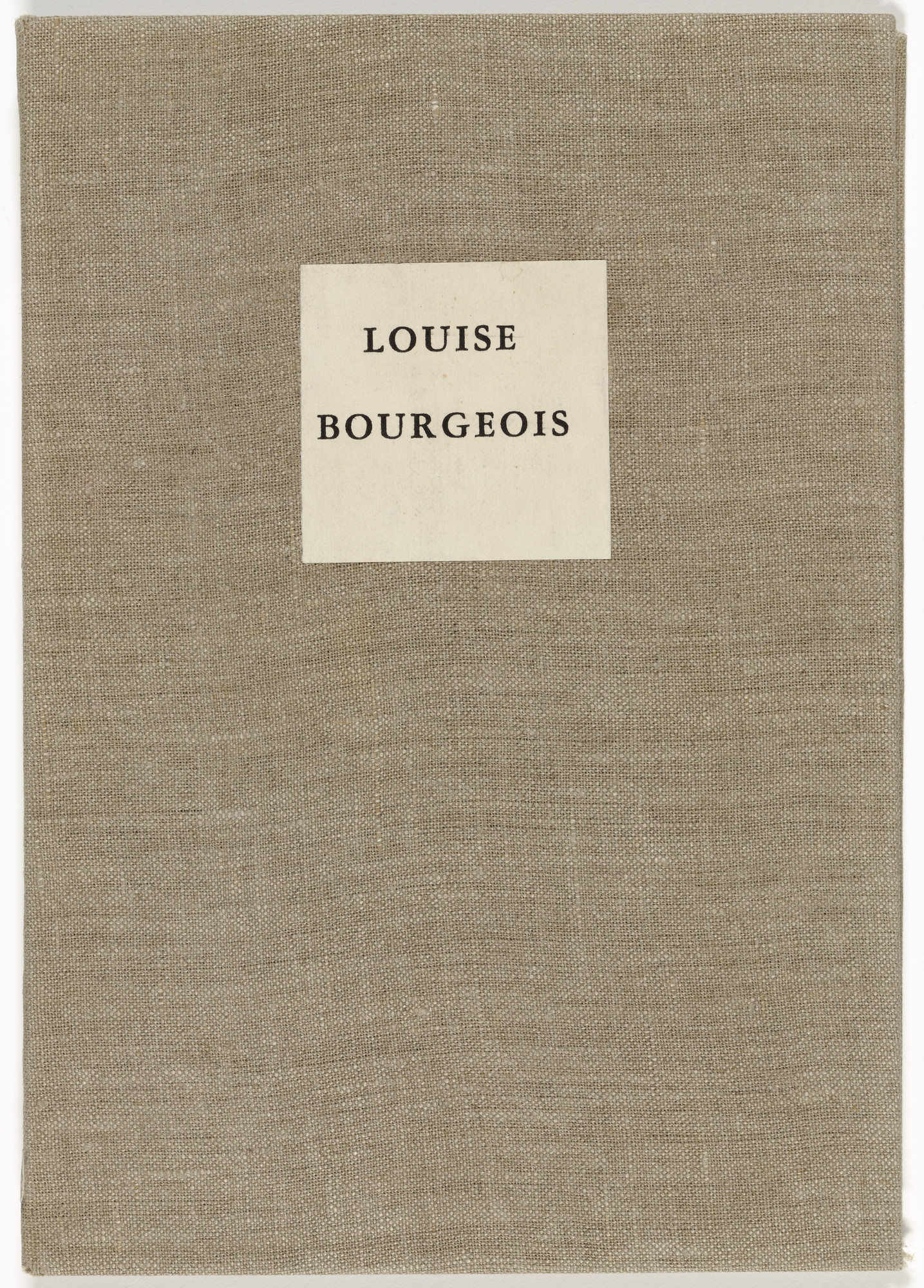 Louise Bourgeois. He Disappeared into Complete Silence, first edition, example 1. 1947