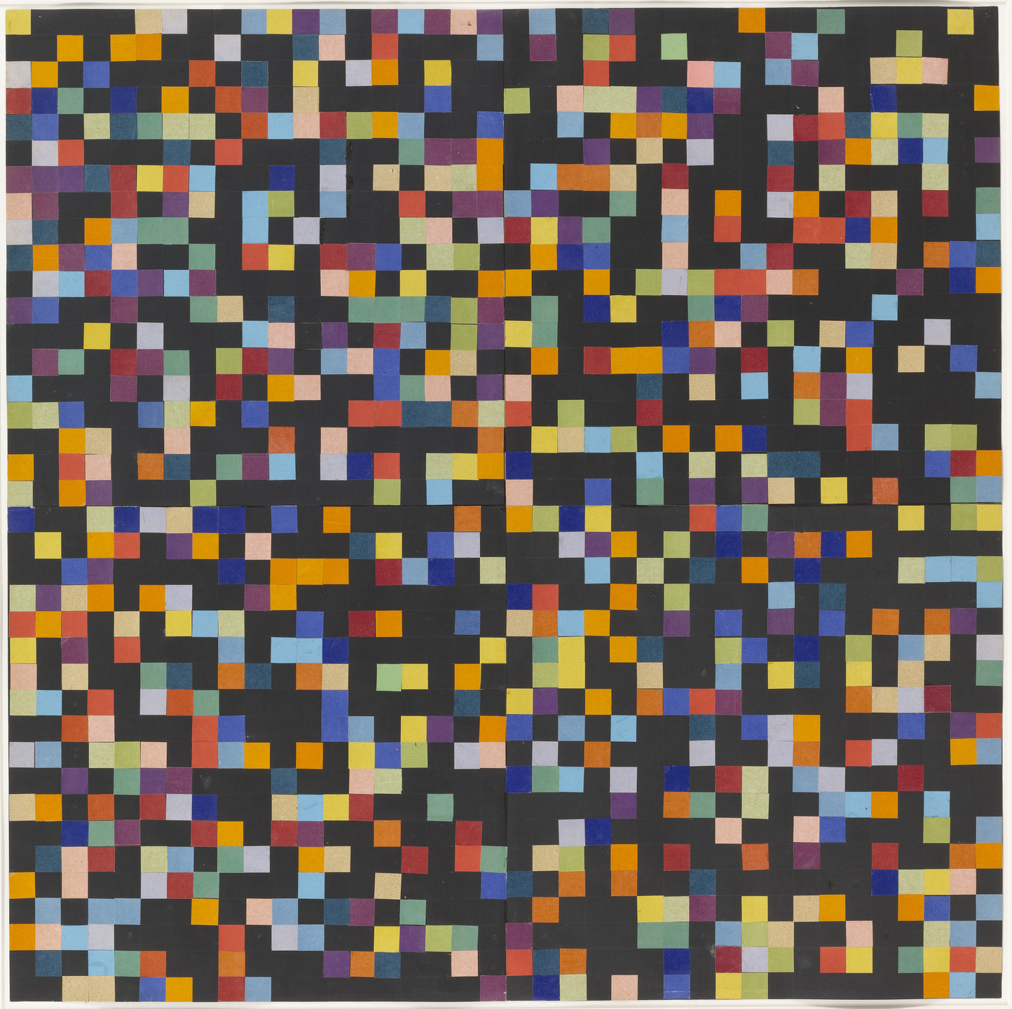 Ellsworth Kelly. Spectrum Colors Arranged by Chance VI. 1951