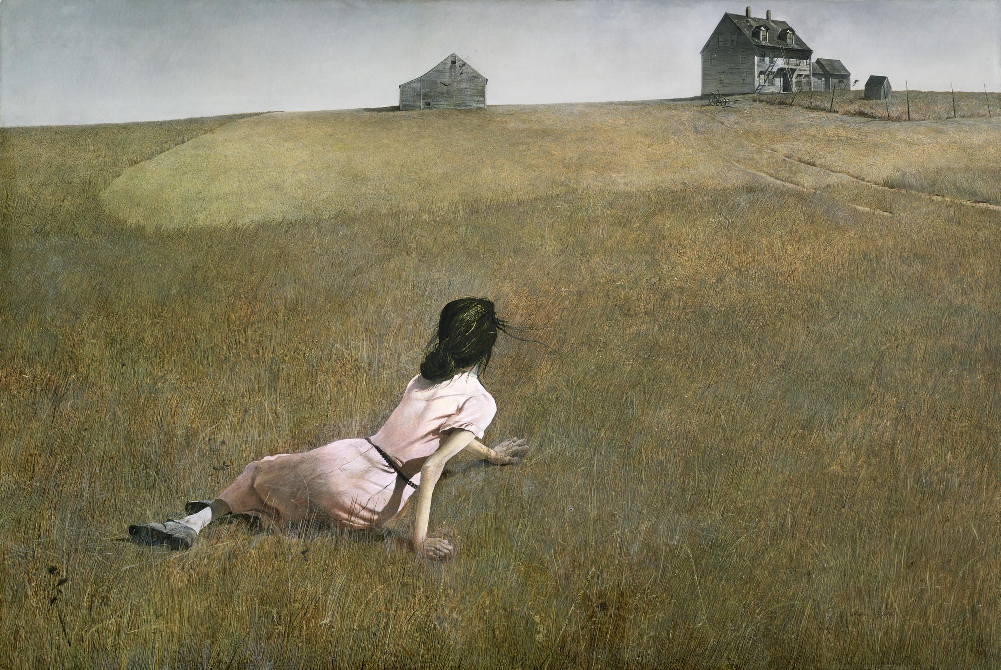 Andrew Wyeth. Christina's World. 1948 | MoMA