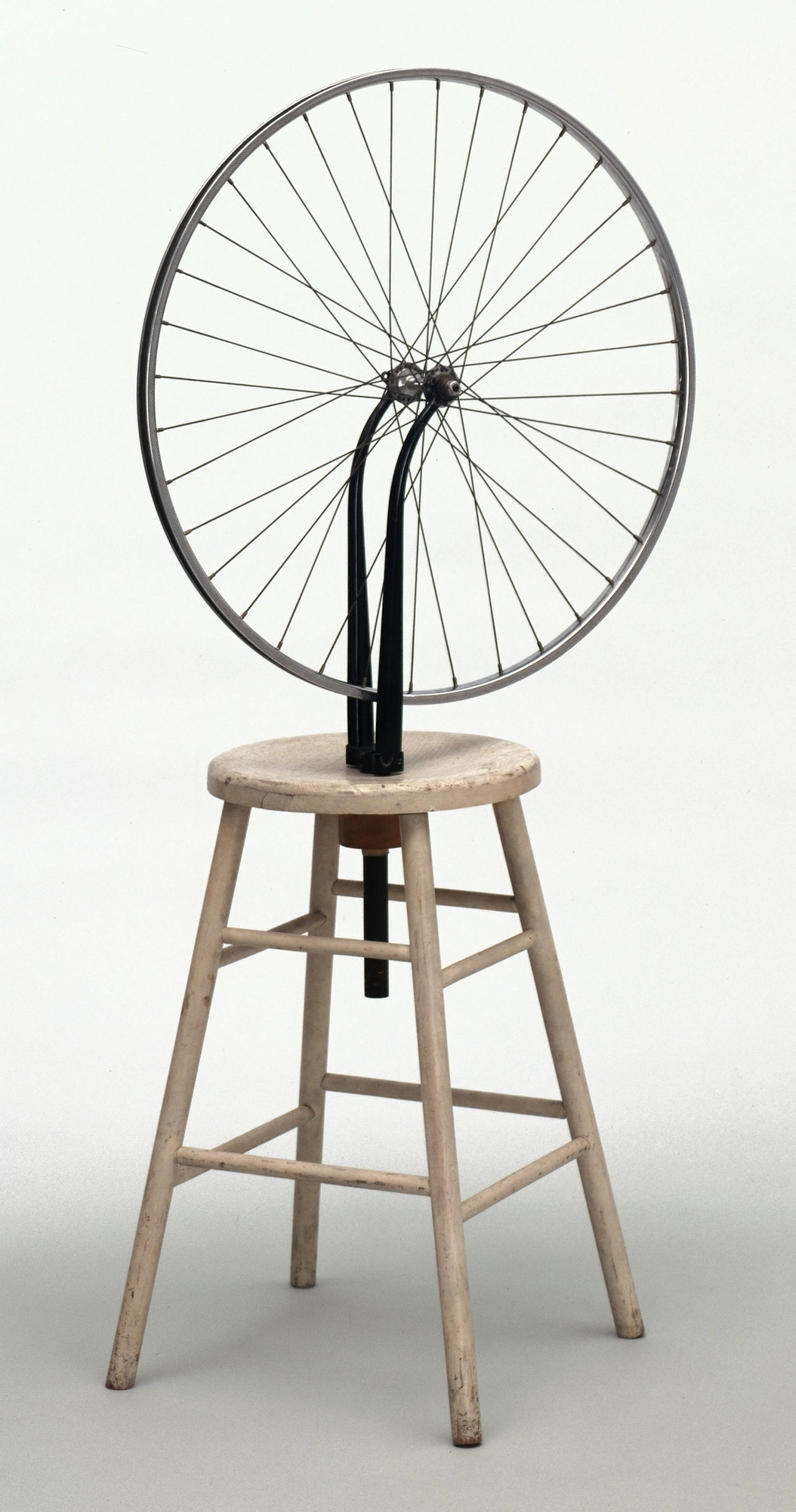 Marcel Duchamp. Bicycle Wheel. New York, 1951 (third version, after lost original of 1913)