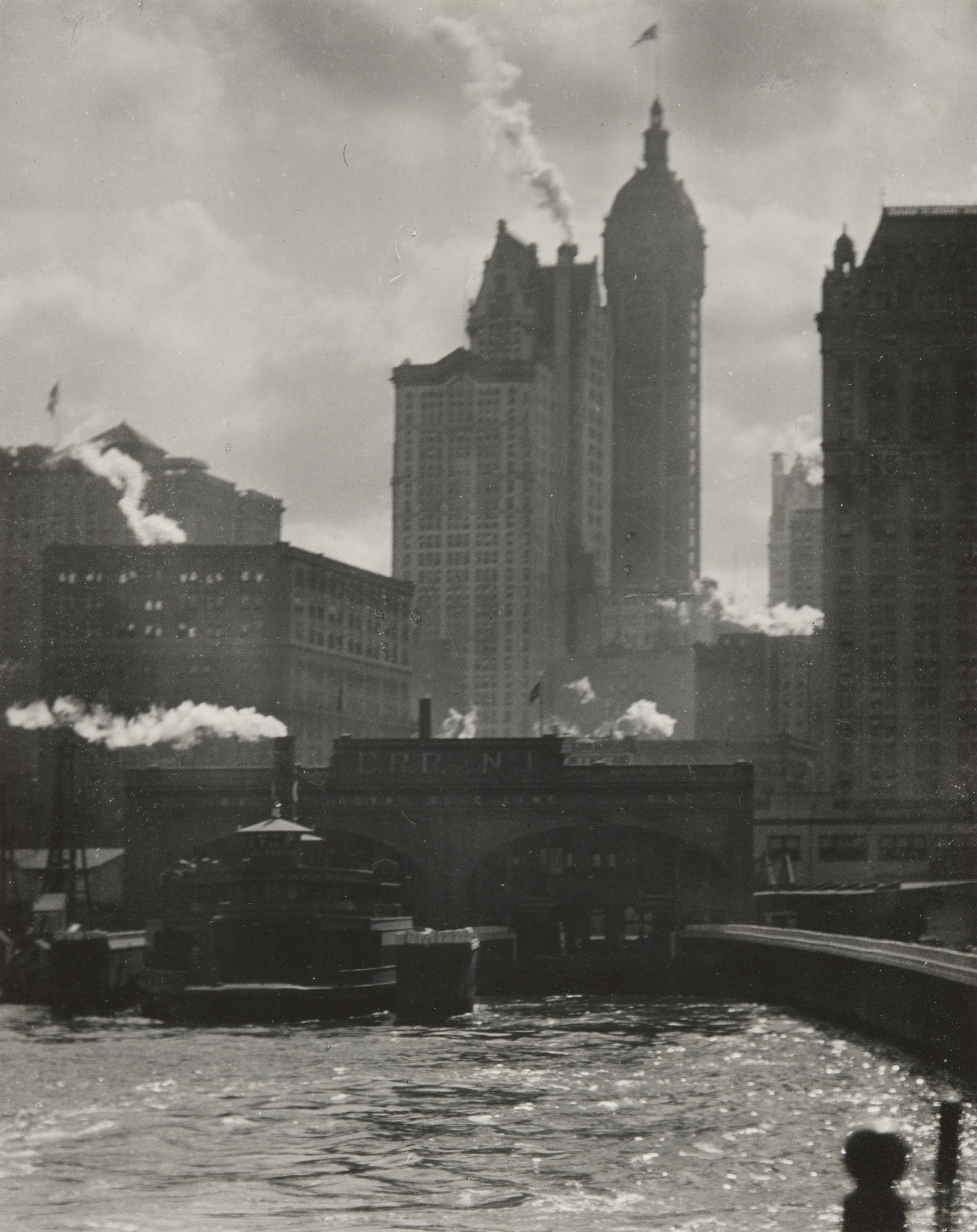 Alfred Stieglitz. The City of Ambition. 1910