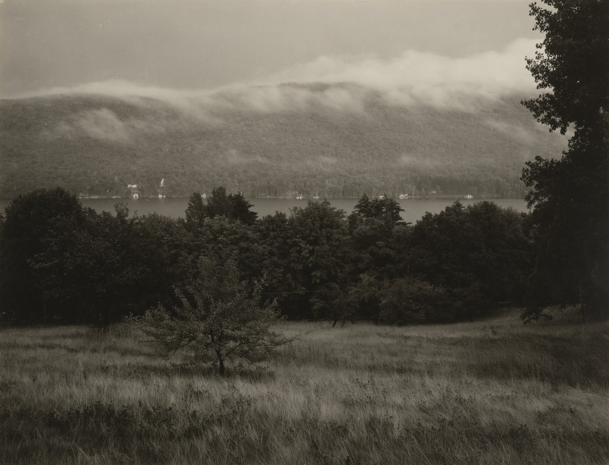 Alfred Stieglitz. Lake George from the Hill. 1932