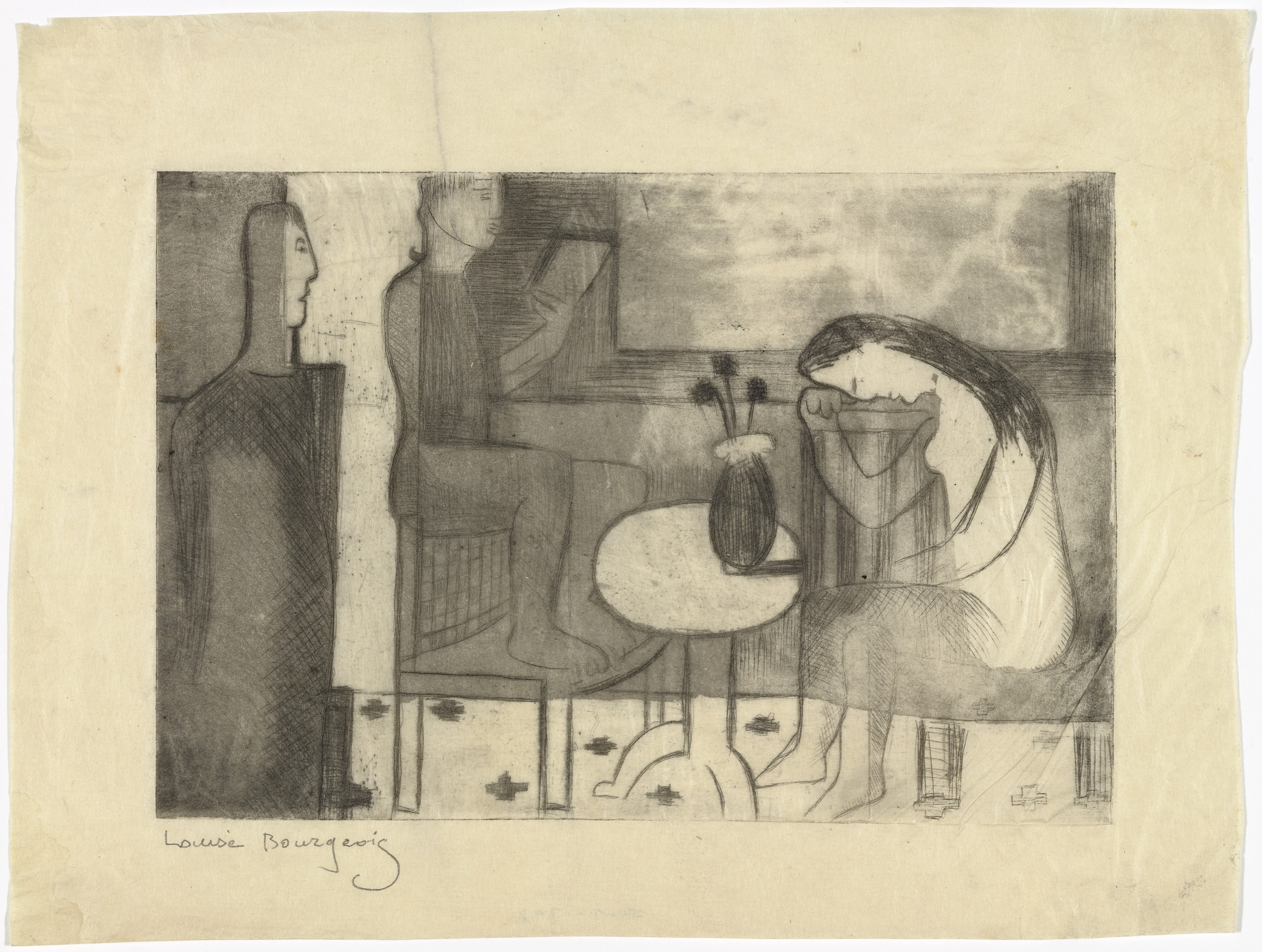 Louise Bourgeois. Youth. 1941-1944