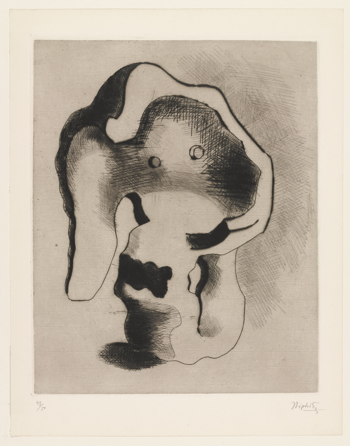 Jacques Lipchitz. Plate (folio 29) from 23 Gravures. 1935
