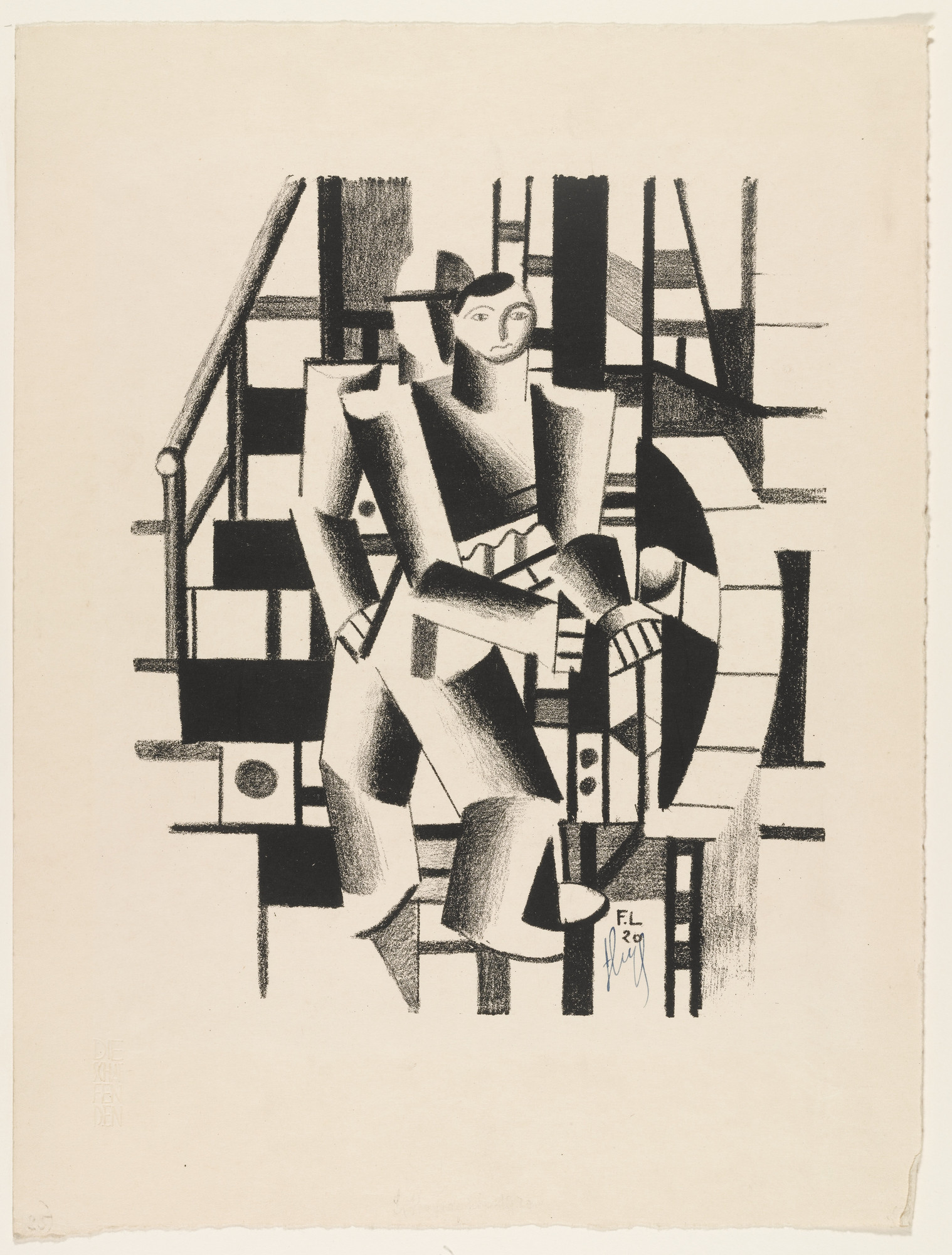 Fernand Léger. Two Men. 1920