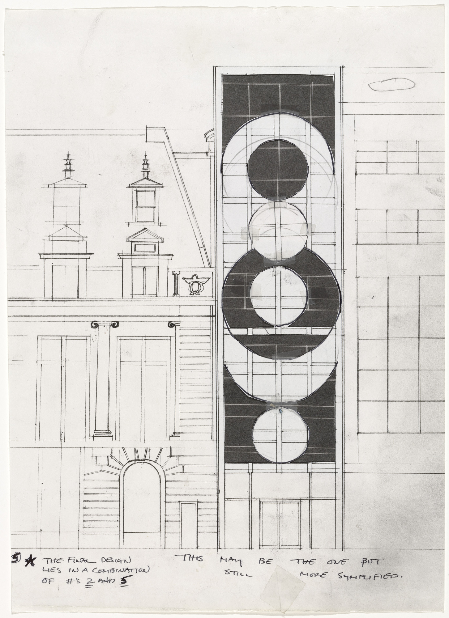 Gordon Matta-Clark. Untitled (Proposal for a Museum of Modern Art Project). (1978)