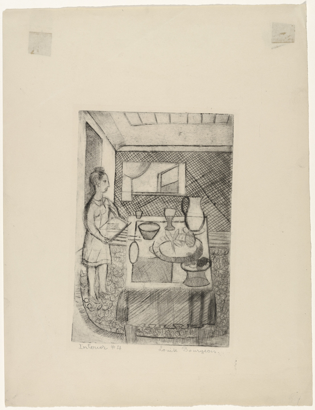 Louise Bourgeois. Easton. c. 1941