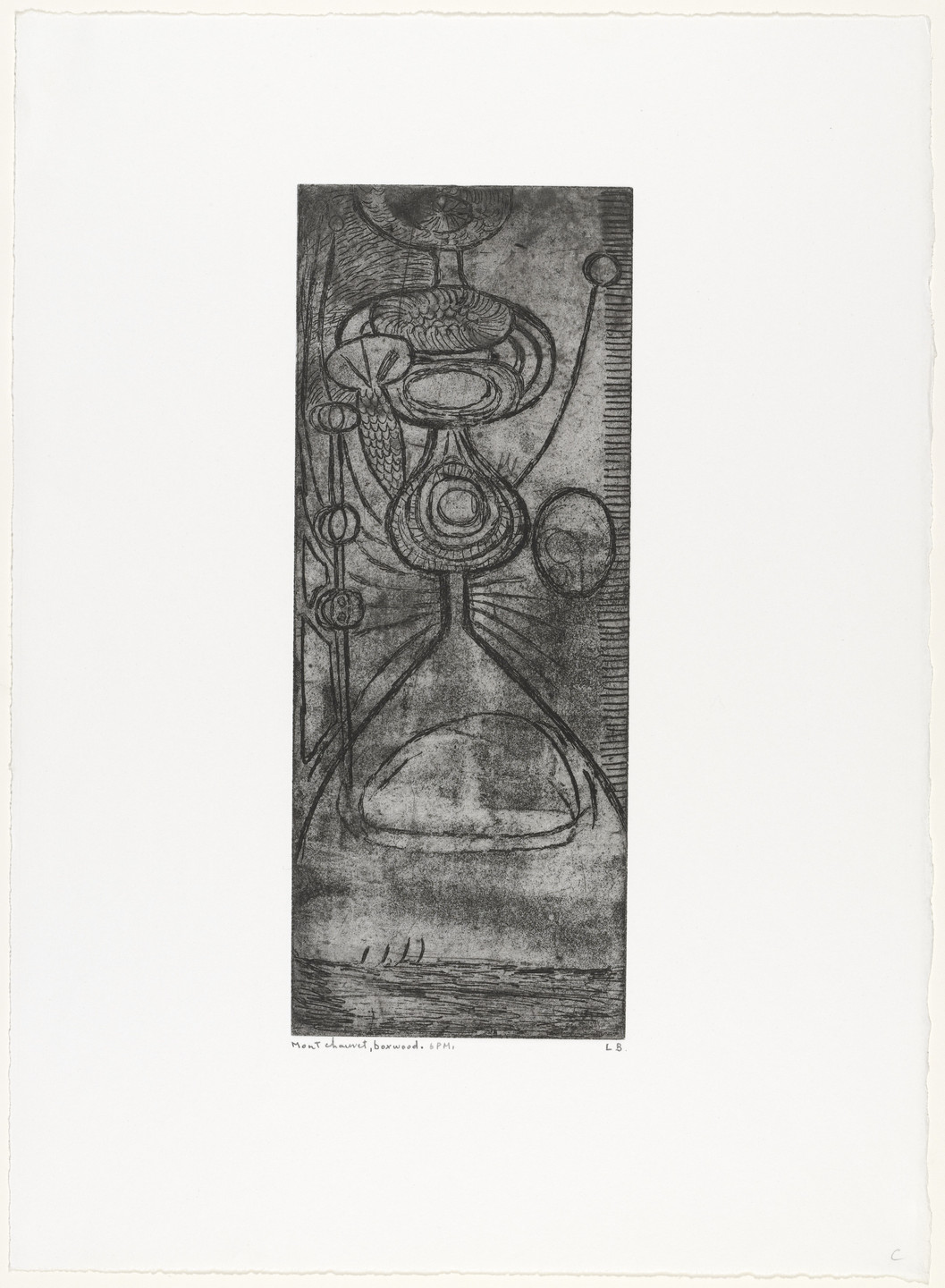 Louise Bourgeois. Boxwood 6PM. c. 1945, reprinted 1990