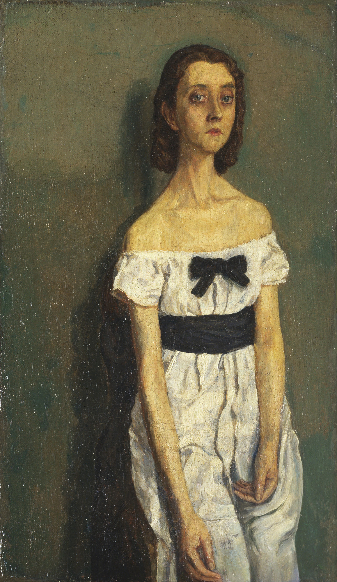 Gwen John. Girl with Bare Shoulders. 1909-10?