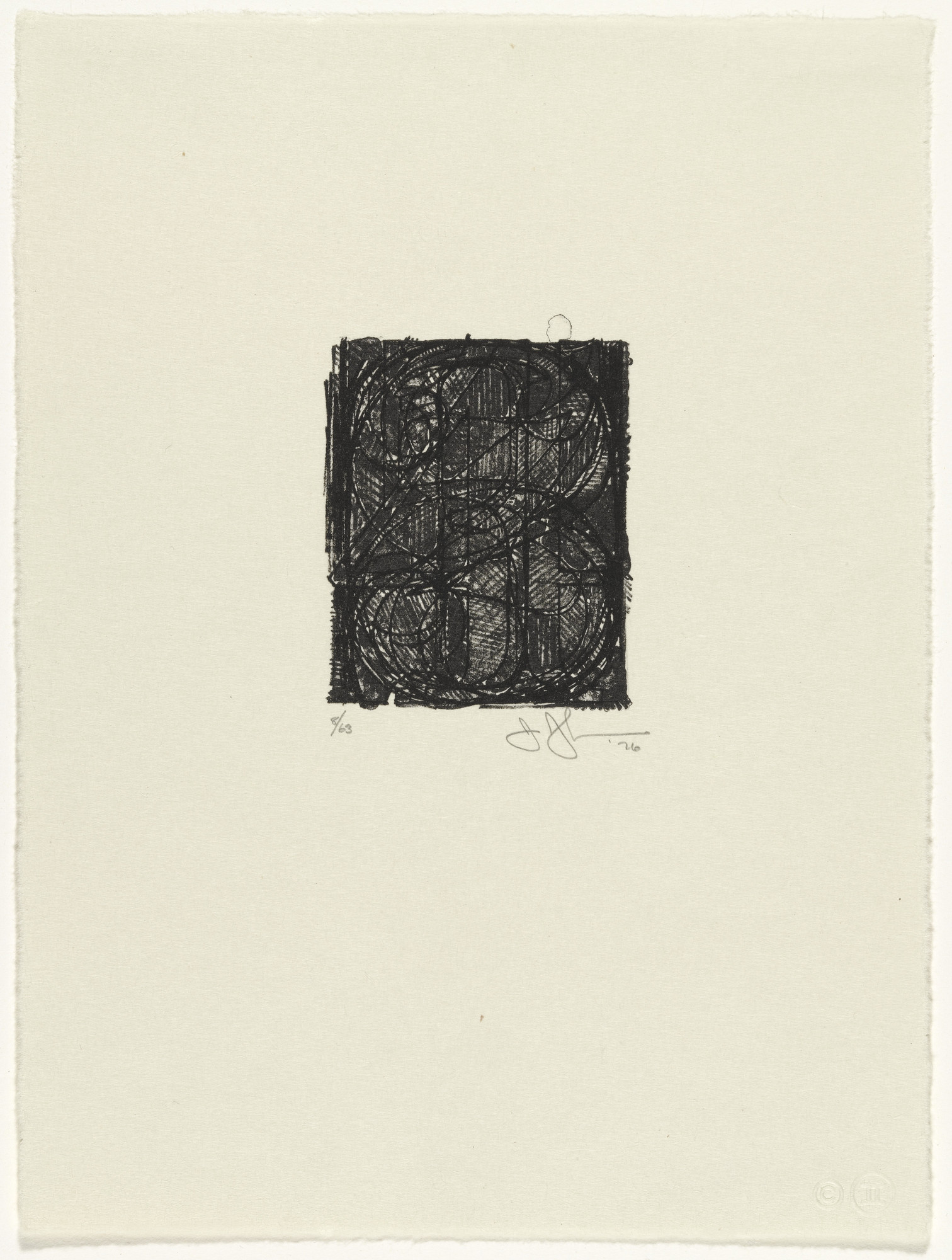 Jasper Johns. 0 through 9. 1976