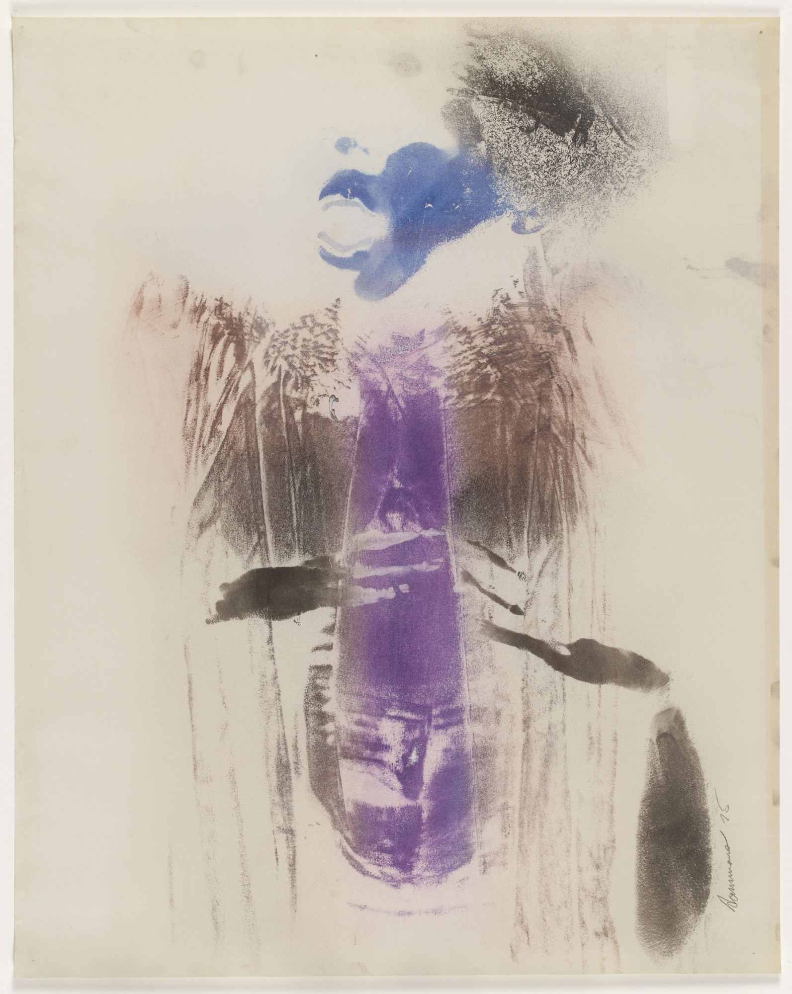 David Hammons. Body Print. 1975