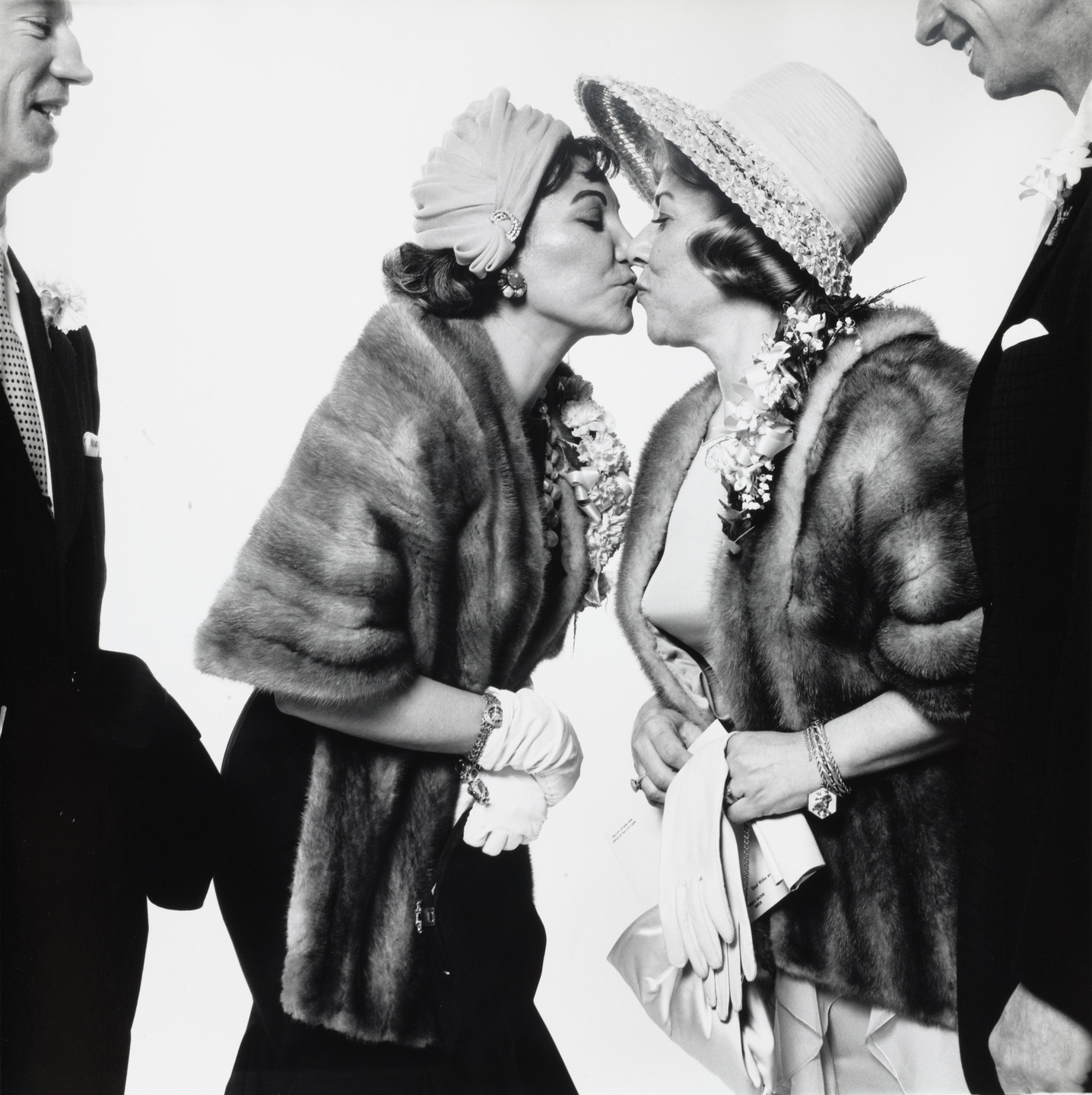 Richard Avedon. Wedding of Mr. and Mrs. H. E. Kennedy. April 29, 1961