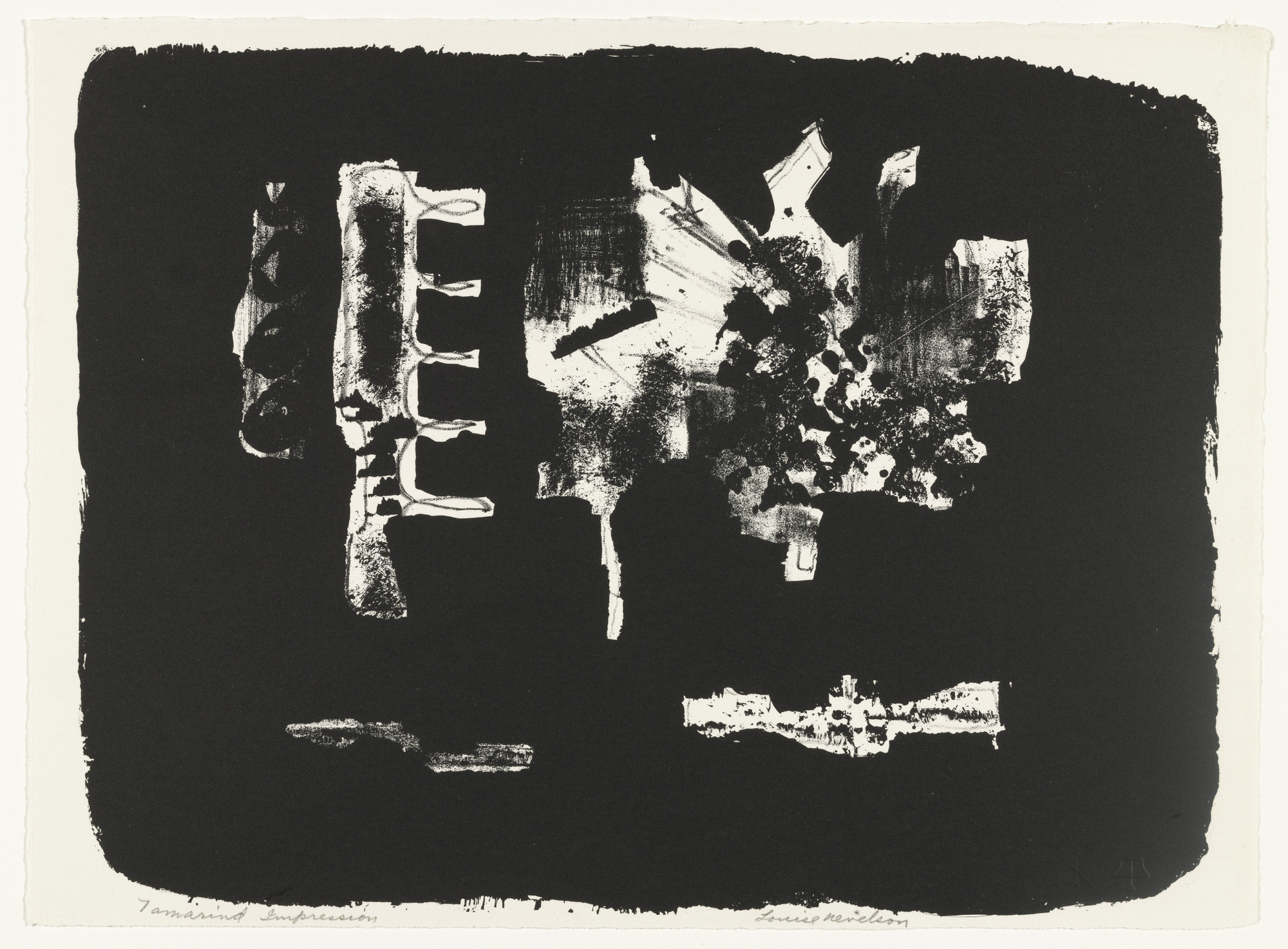 Louise Nevelson. Untitled. 1963