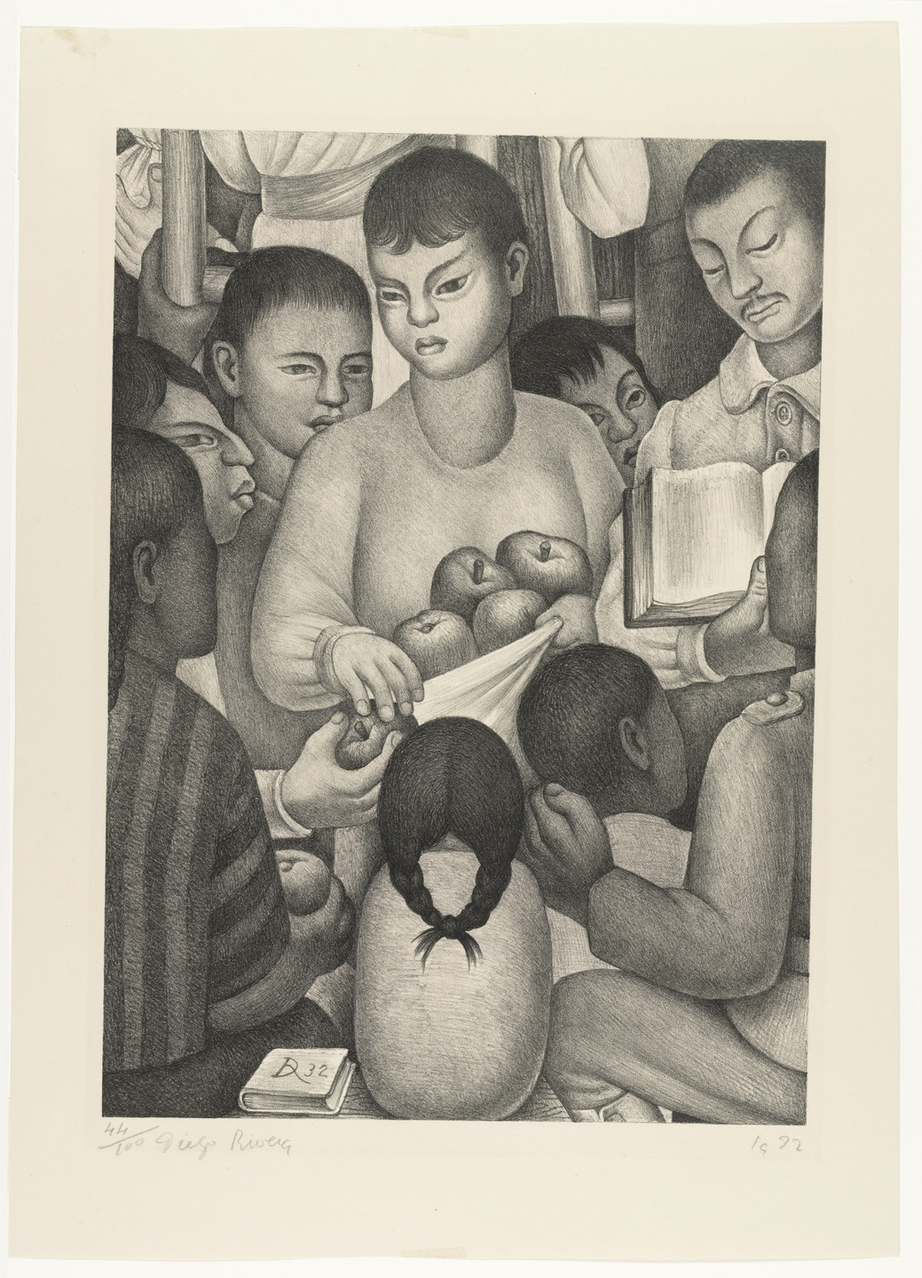 Diego Rivera. The Fruits of Labor. 1932
