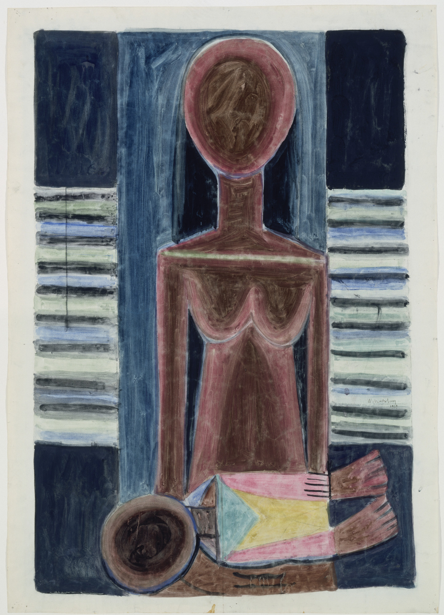 Wifredo Lam. Mother and Child. 1939