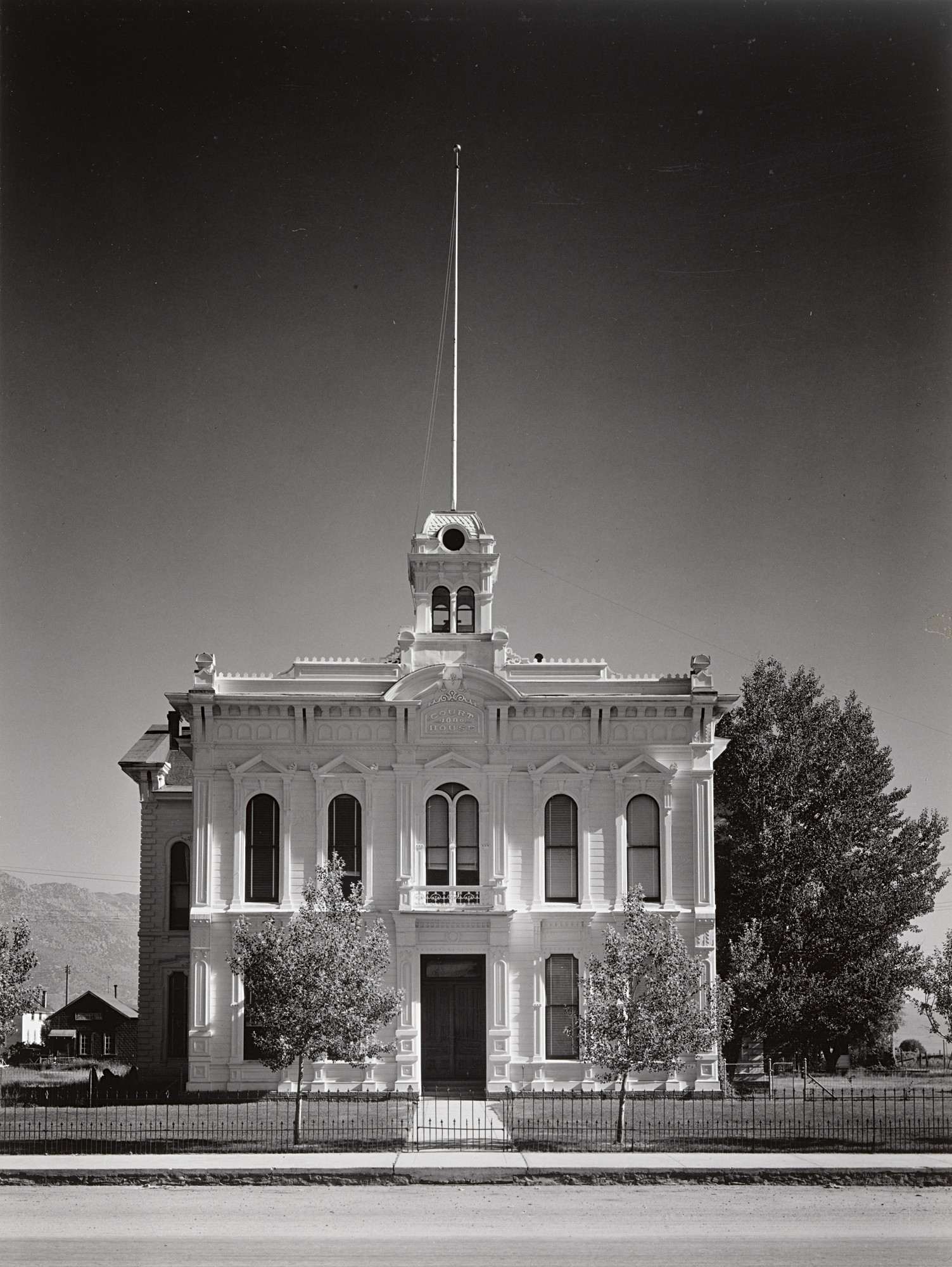 Ansel Adams. Courthouse, Bridgeport, California. 1938