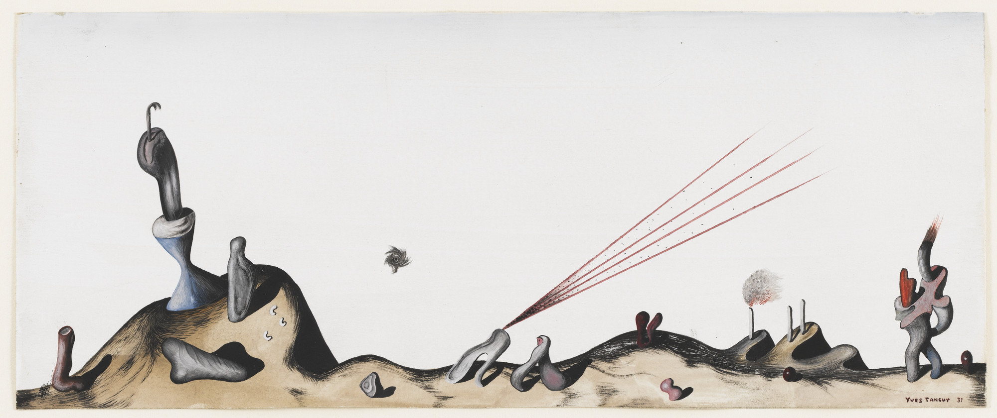 Yves Tanguy. Untitled. 1931
