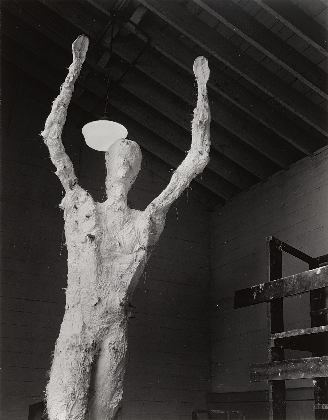 Ansel Adams. Armature of Monumental Sculpture. 1938