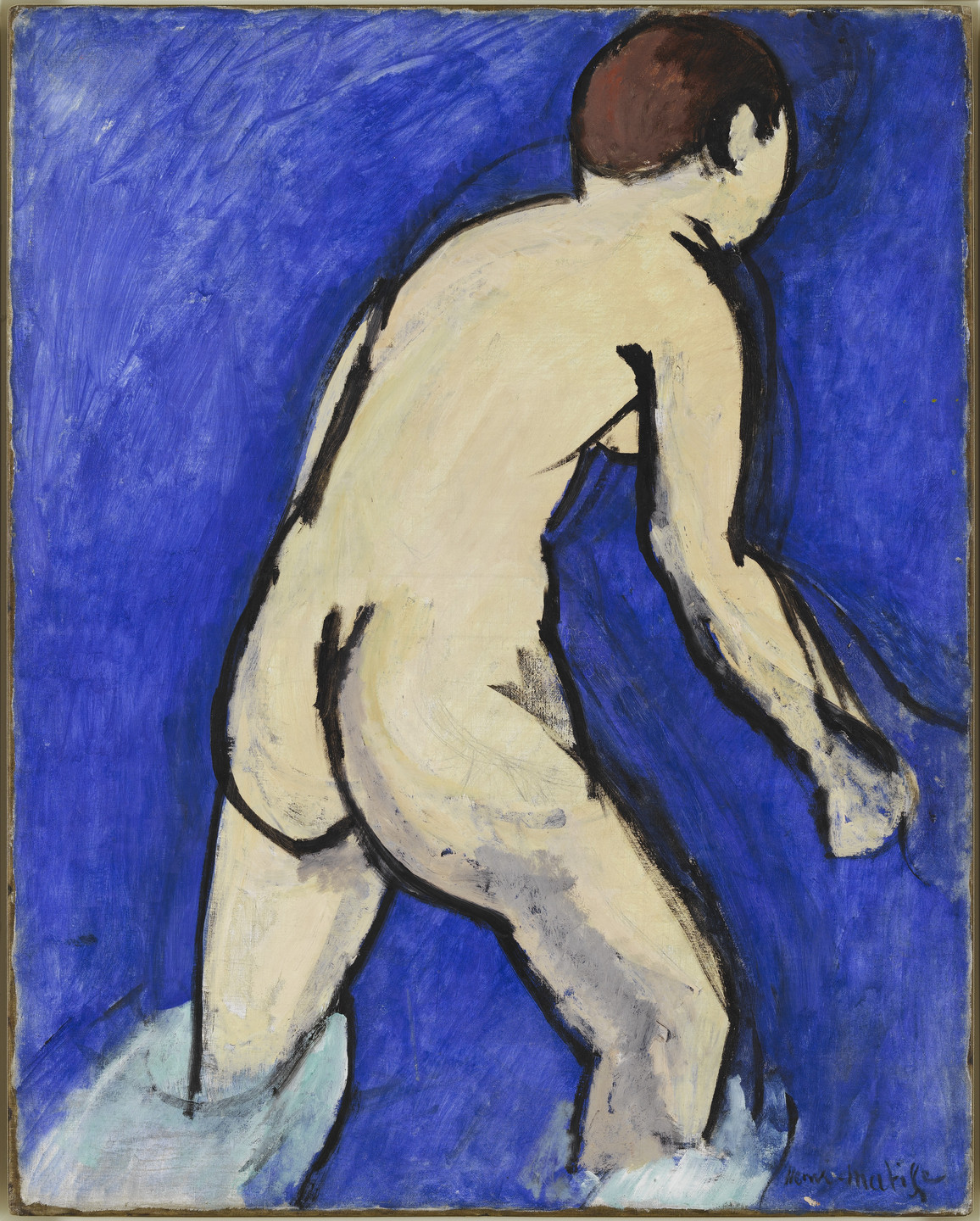 Henri Matisse. Bather. Cavalière, summer 1909