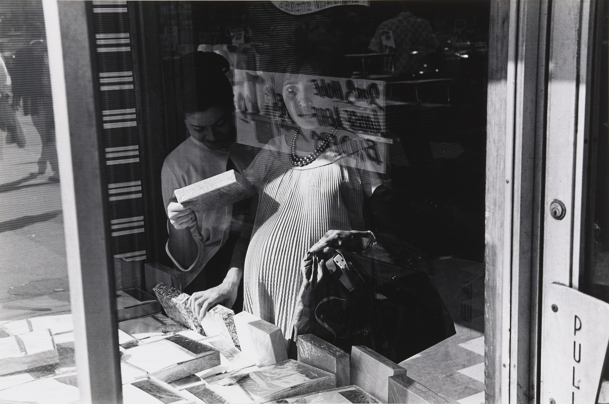 Lee Friedlander. New York City. 1963