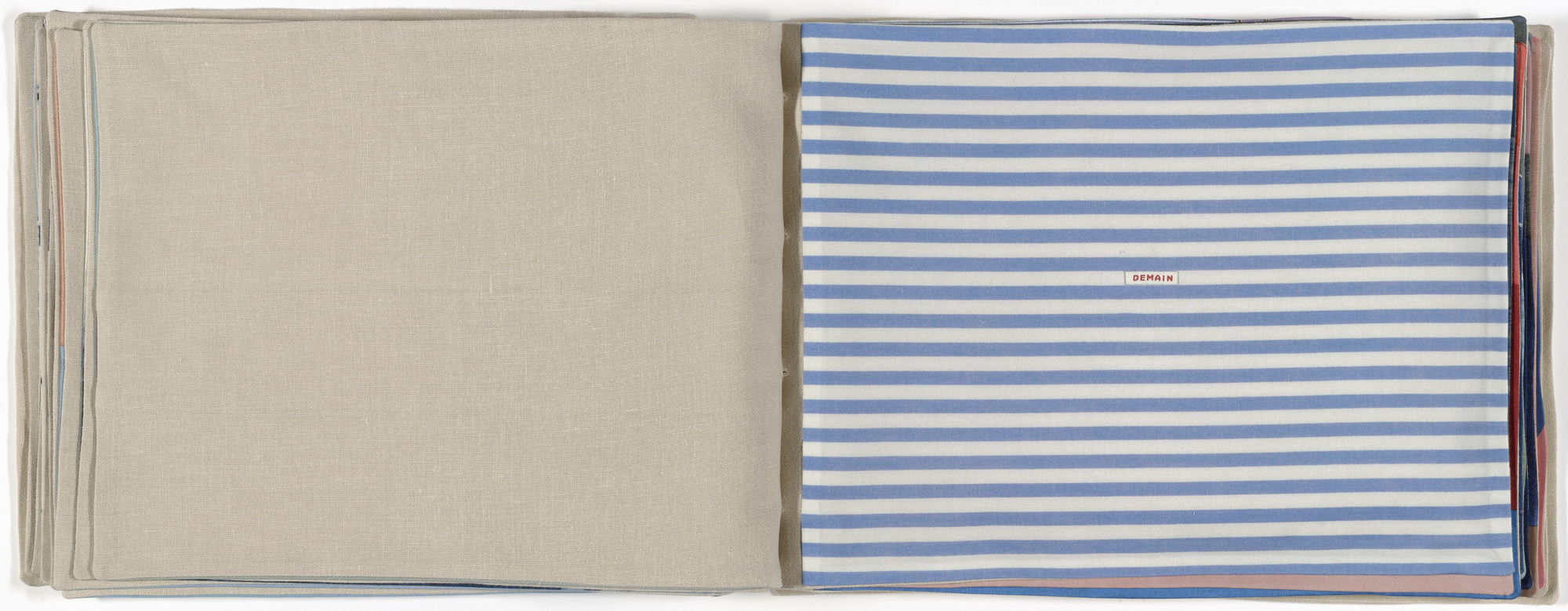 Louise Bourgeois. Untitled, no. 11 of 23, from the illustrated book, Ode à la Bièvre. 2007