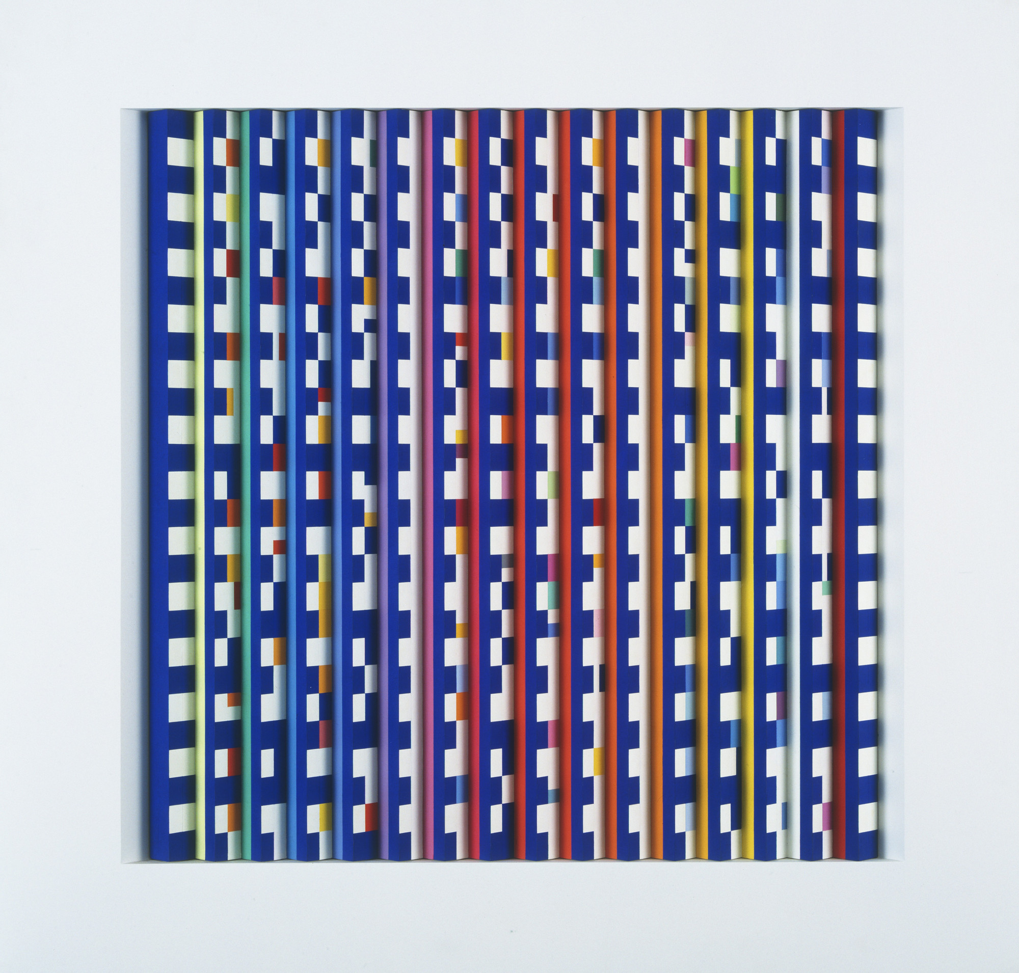 Agam (Yaacov Agam). Color and Monochrome - Line and Structure. 1962-87