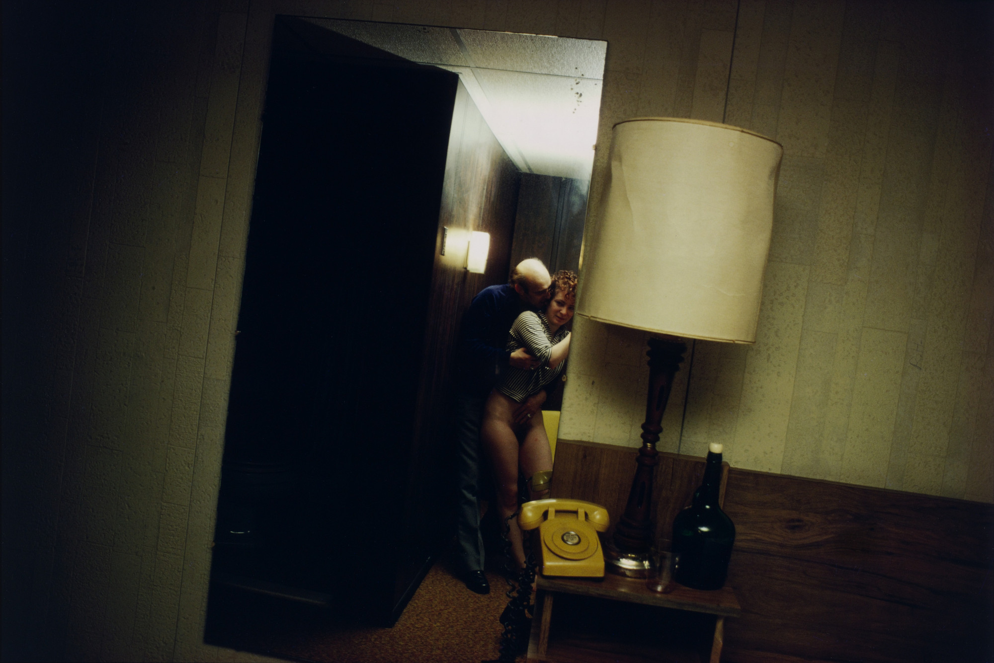 Nan Goldin. Nan and Dickie in the York Motel, New Jersey. 1980
