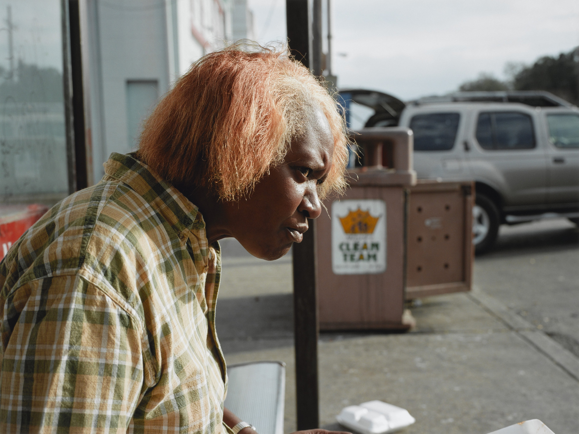 Paul Graham. New Orleans, 2004 (Woman Eating). 2004