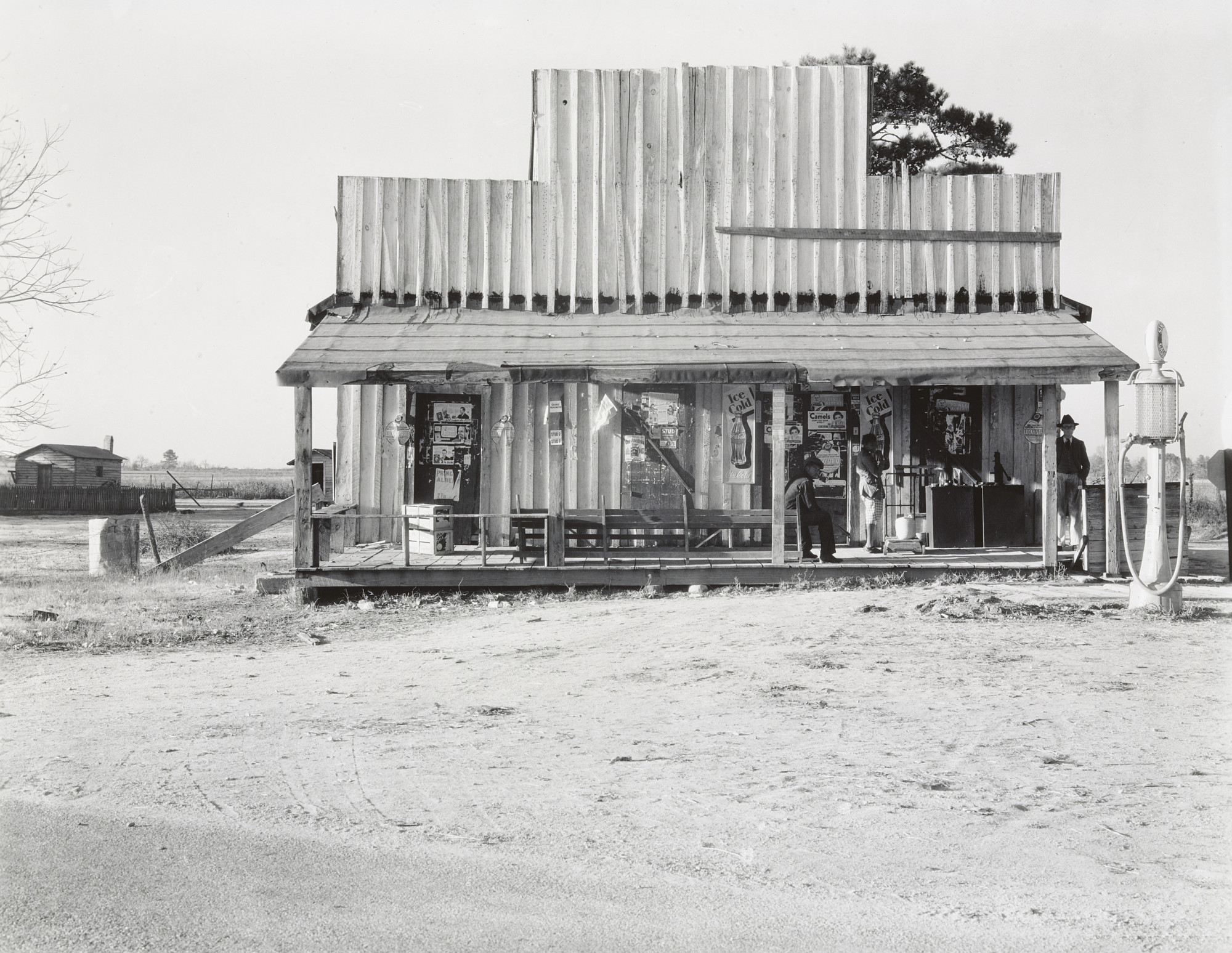 Walker Evans. Country Store and Gas Station, Alabama. 1936
