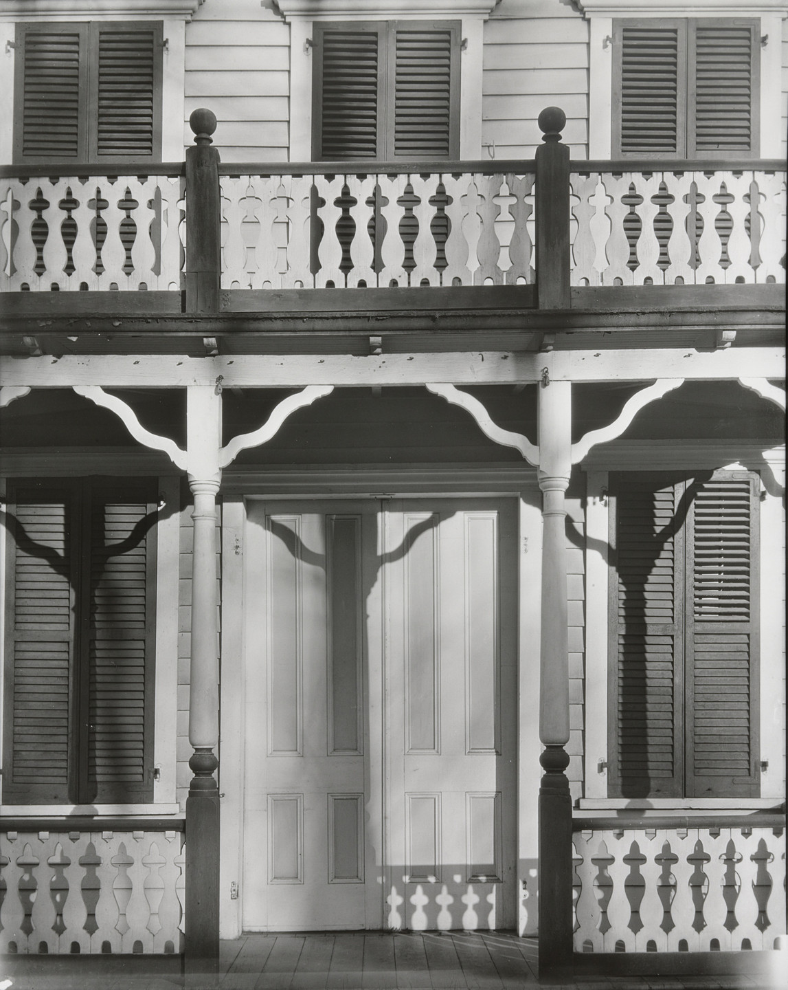 Walker Evans. Detail of a Frame House in Ossining, New York. 1931