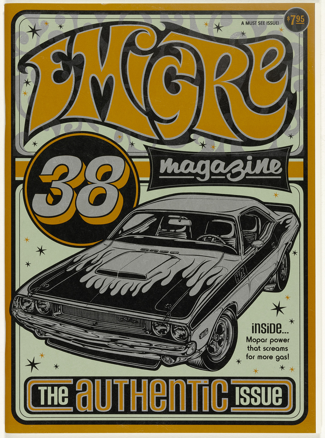 Emigre Inc., Rudy VanderLans, Zuzana Licko. Emigre 38, The Authentic Issue. 1996