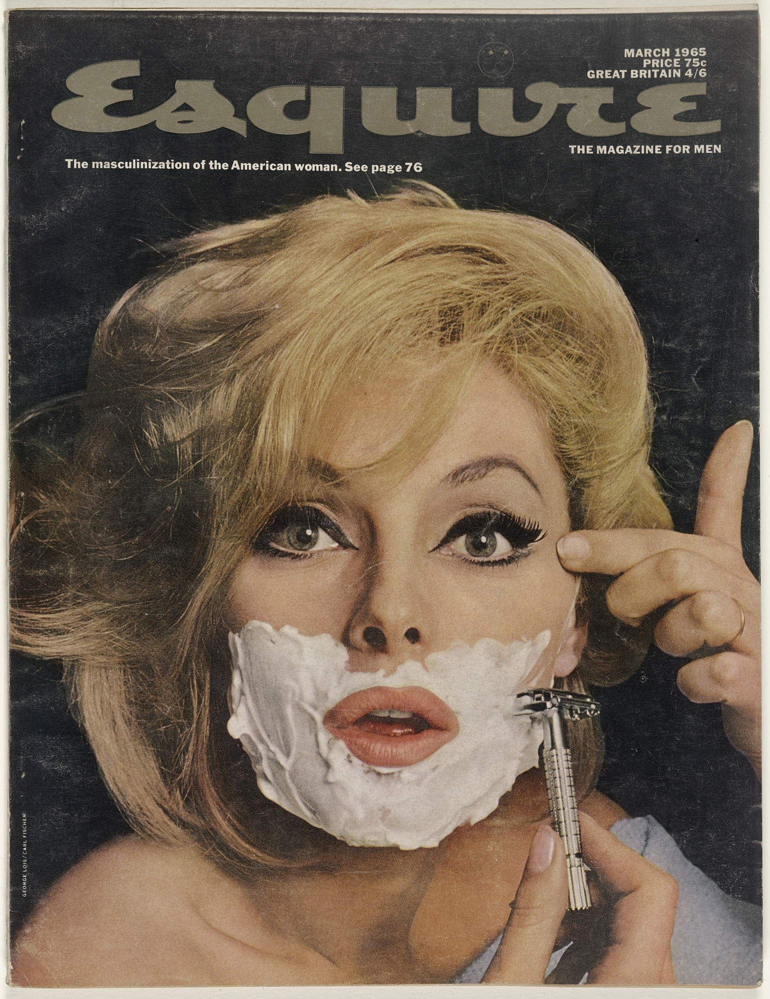 George Lois. Esquire Magazine, Issue no. 376, March 1965. 1965