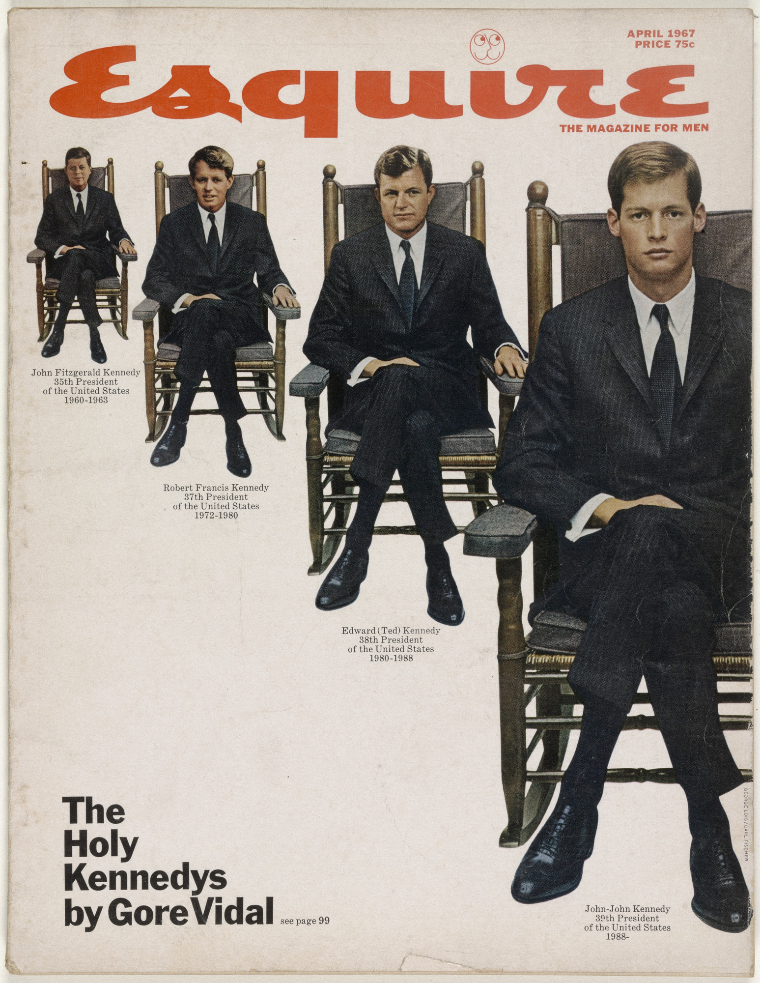 George Lois. Esquire Magazine, Issue no. 401, April 1967,. 1967