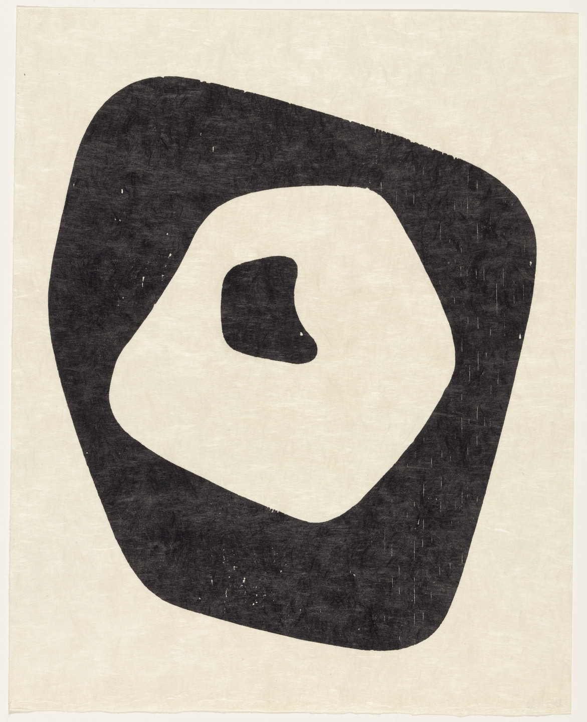 Jean (Hans) Arp. Silent Tension (plate, supplementary suite) from Dreams and Projects. 1951–52, published 1952