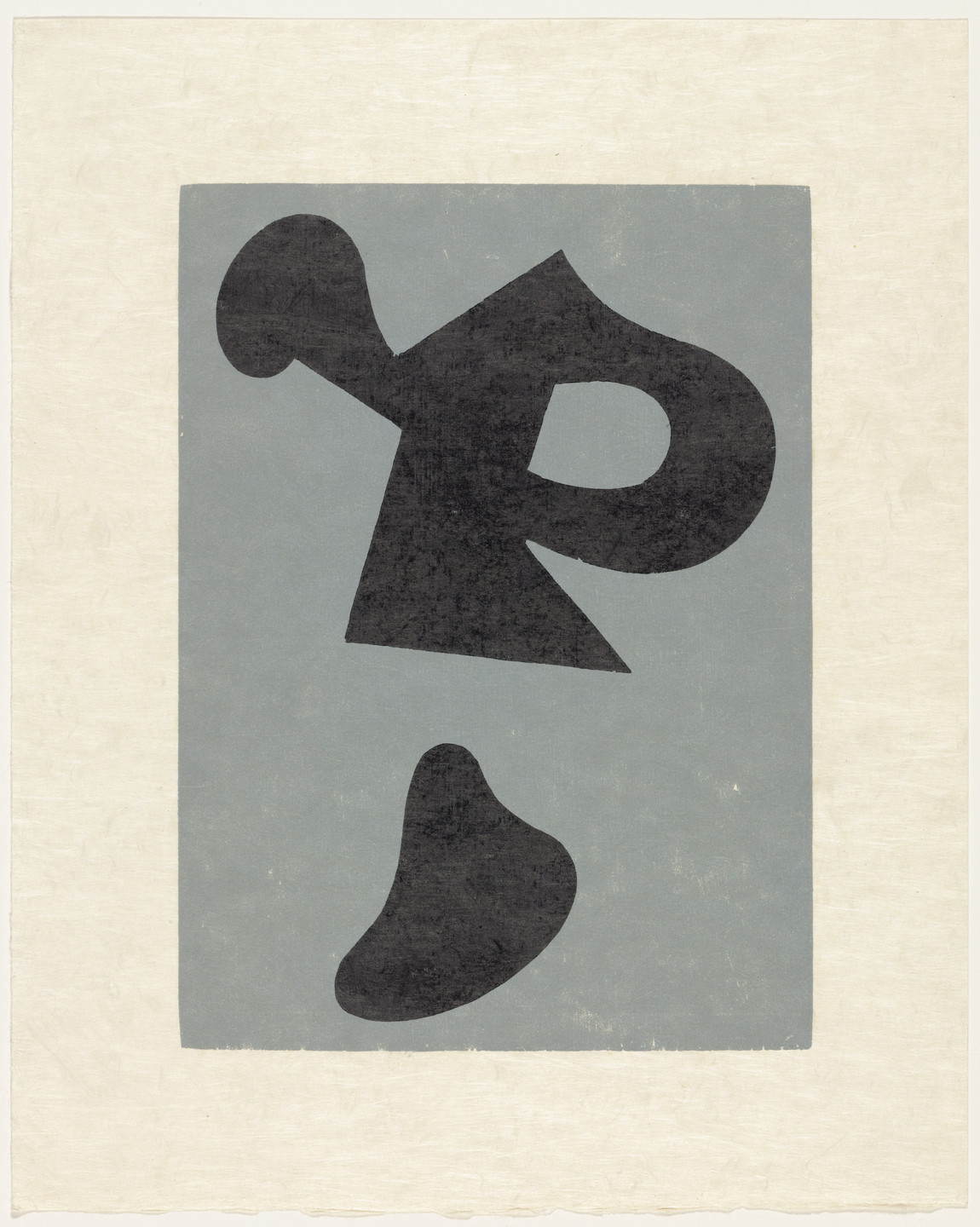 Jean (Hans) Arp. Stay-at-Home Objects (plate, supplementary suite) from Dreams and Projects. 1951–52, published 1952